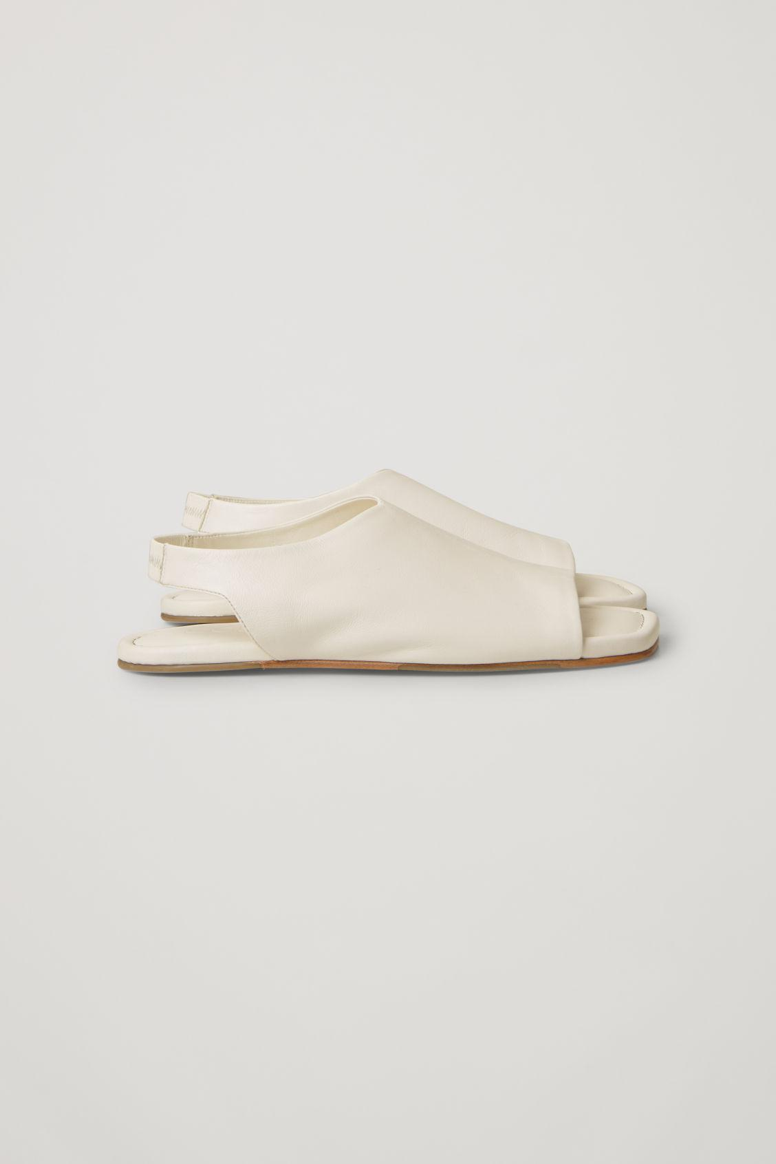 LEATHER OPEN-TOE SANDALS 2