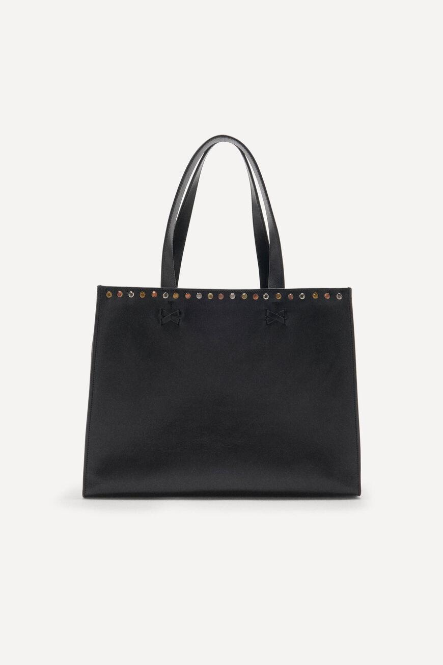 cabas.LEATHER TOTEBAG 2