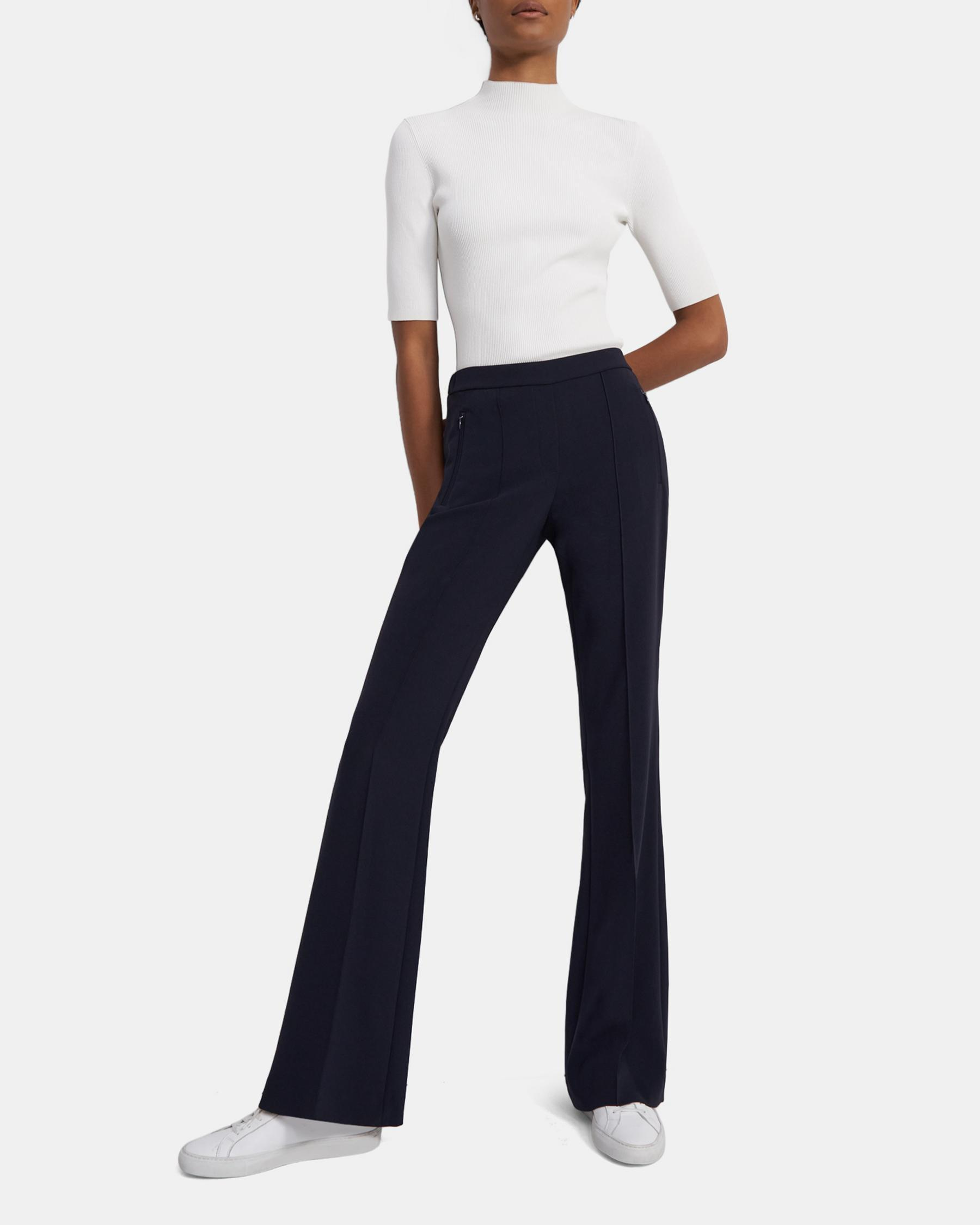 Demitria Pull-On Pant in Crepe