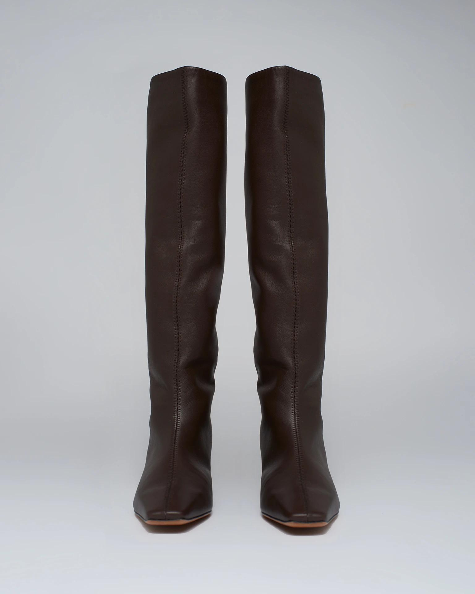 PIPPA - Leather knee-boots - Java 2