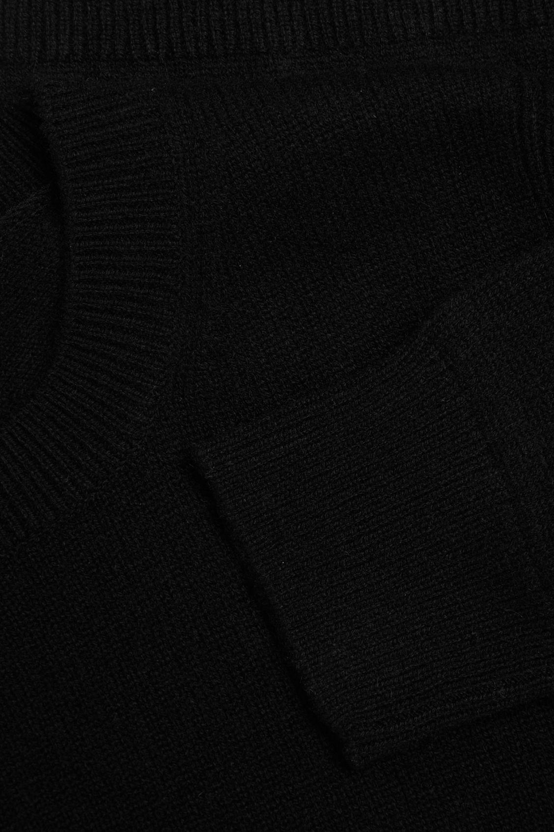 CASHMERE RIBBED DETAIL SWEATER 1