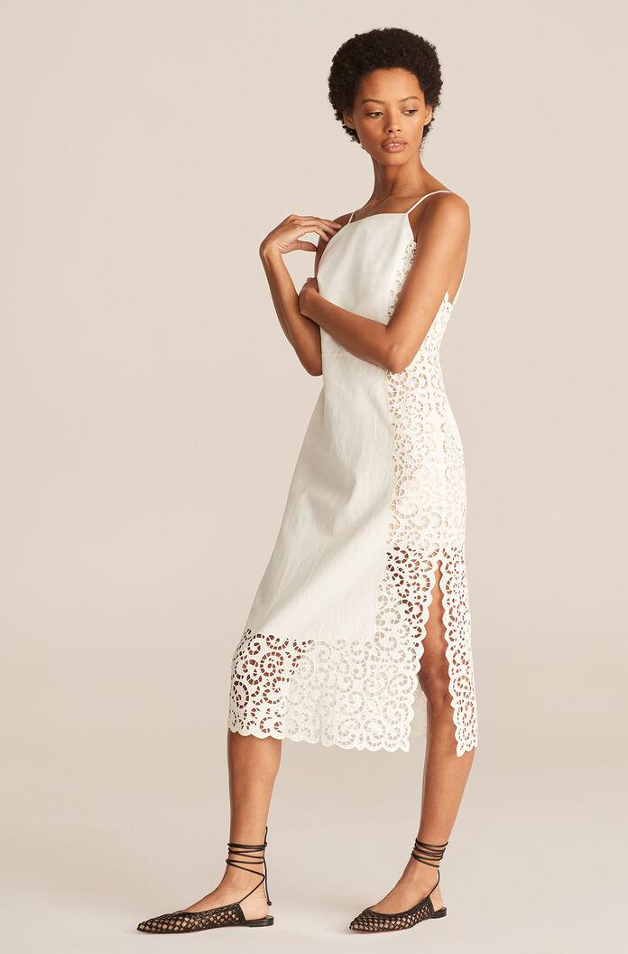 AGNES EMBROIDERY DRESS