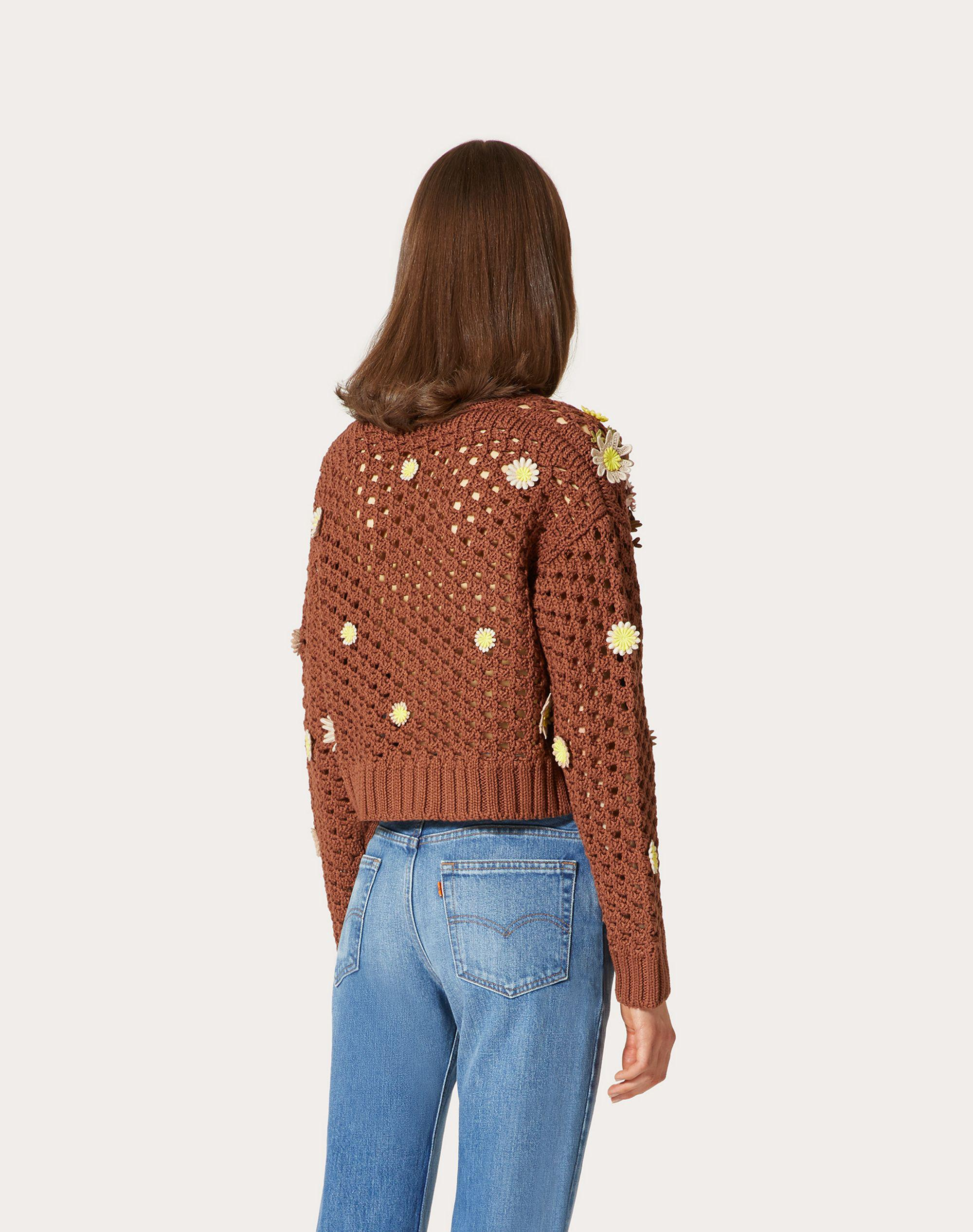 EMBROIDERED COTTON CARDIGAN 2
