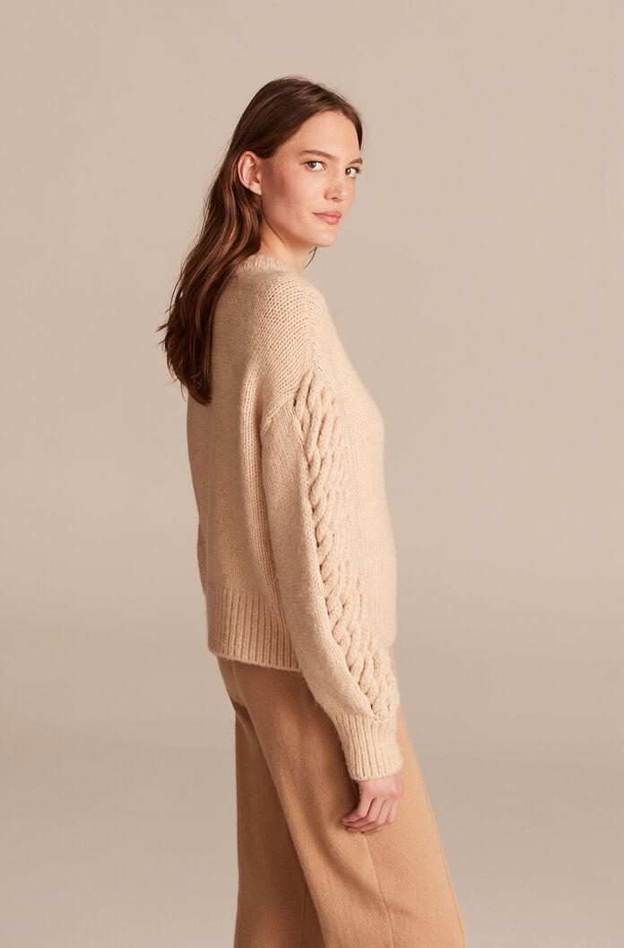 BRAIDED PULLOVER 1