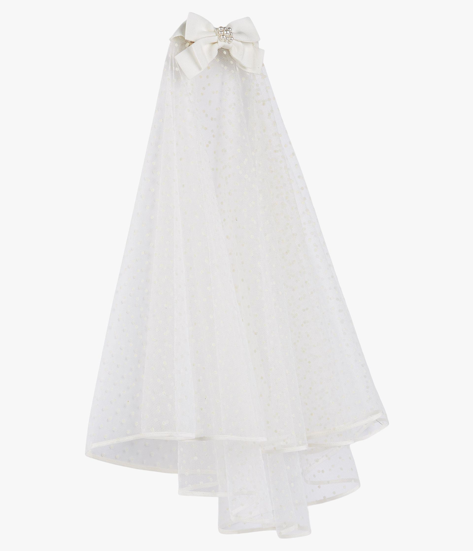Bridal Veil Dotted Tulle