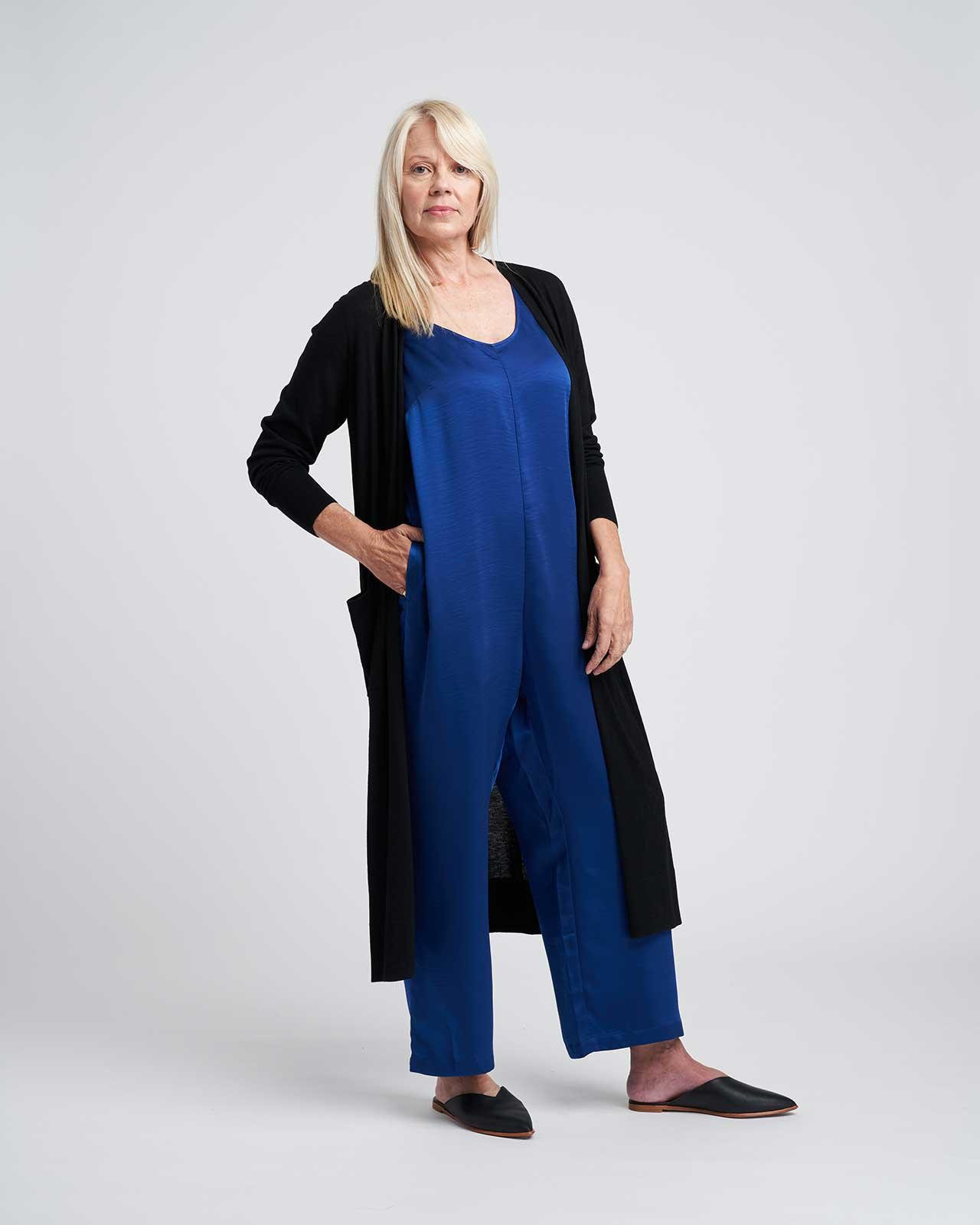 Judy Satin Relaxed Jumpsuit 9