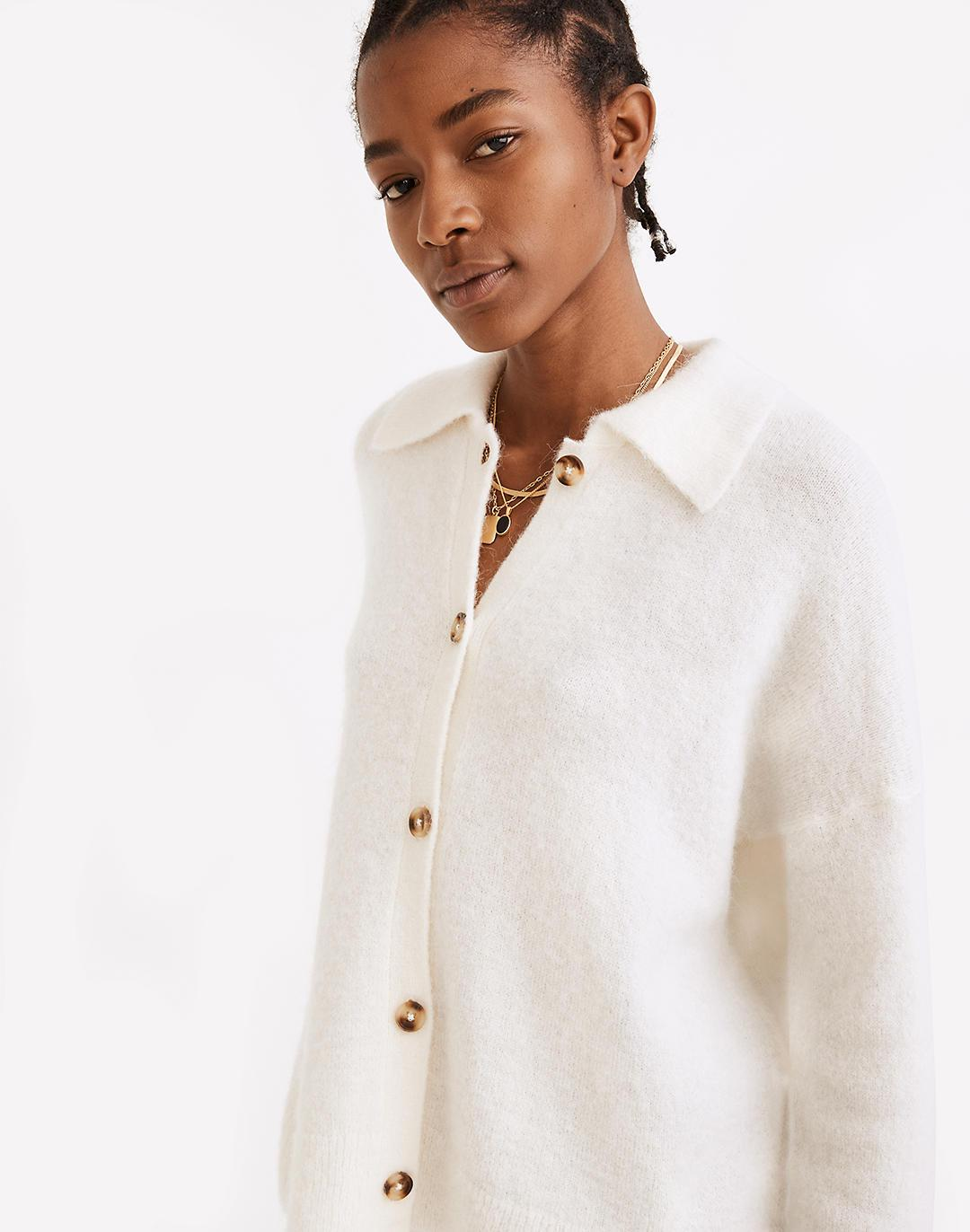 Carrabelle Polo Cardigan Sweater