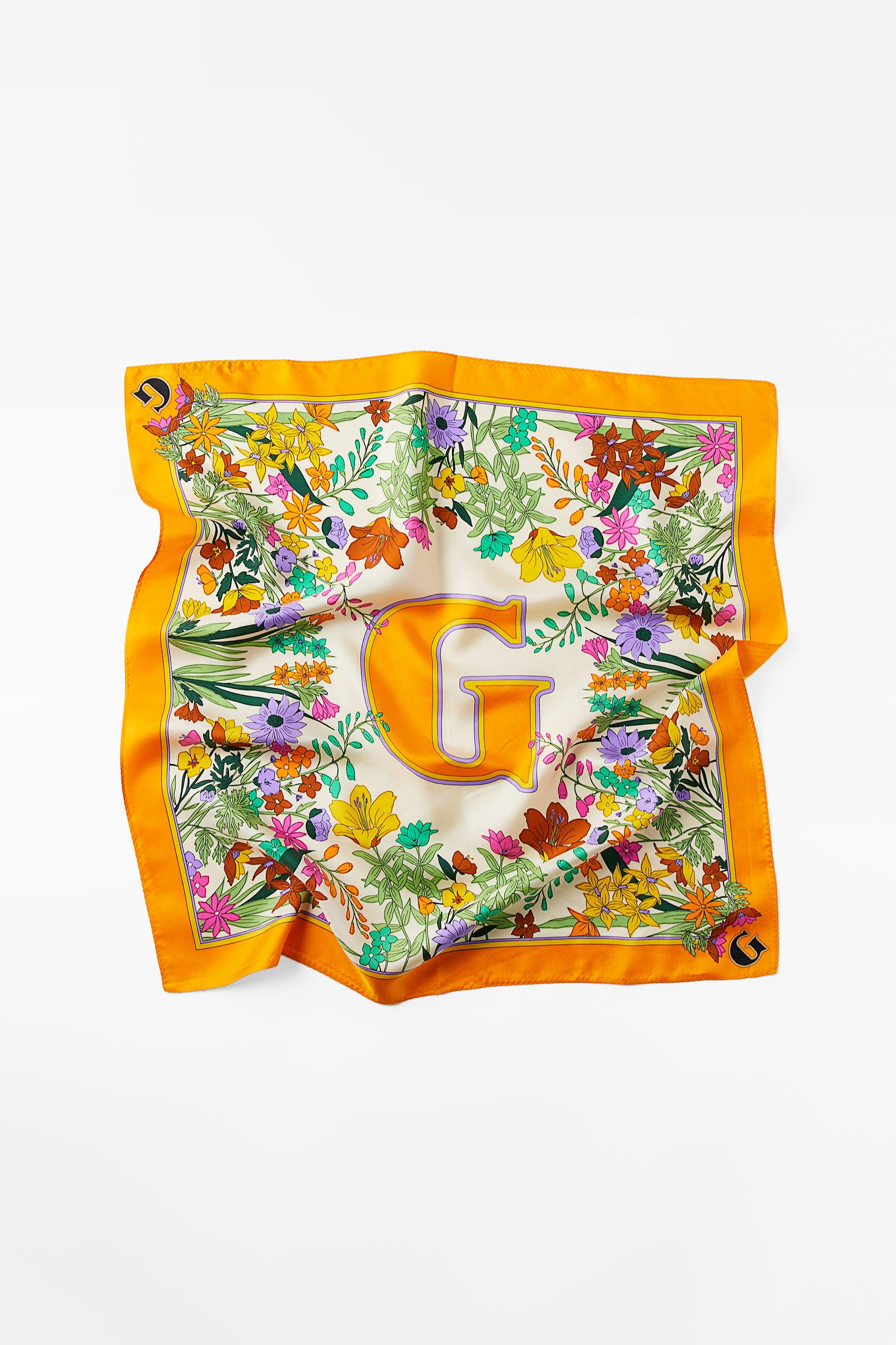 INITIAL SILK SCARF SPECIAL EDITION
