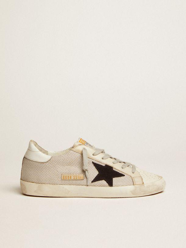 Super-Star sneakers in leather with mesh insert