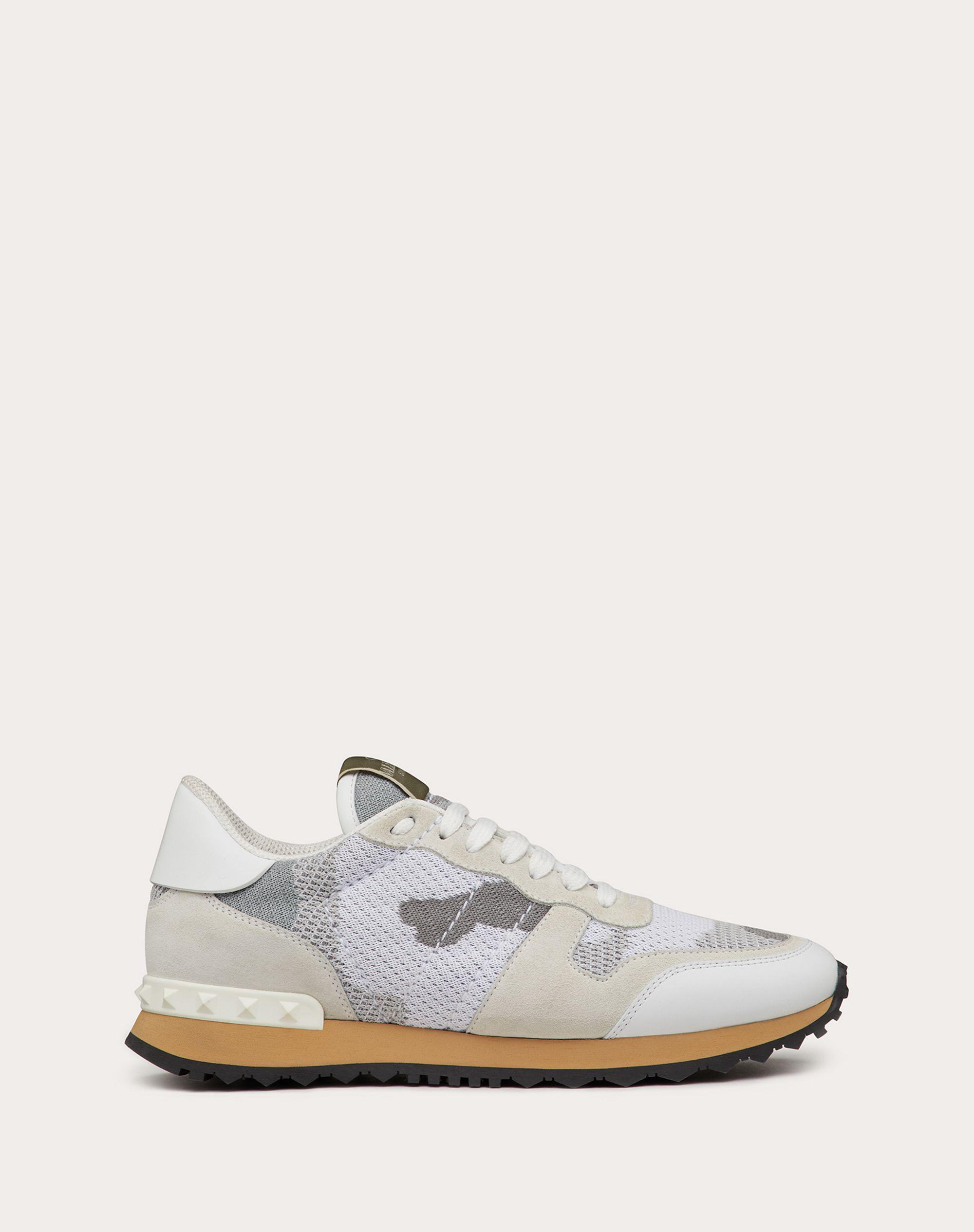 Mesh Fabric Camouflage Sneaker