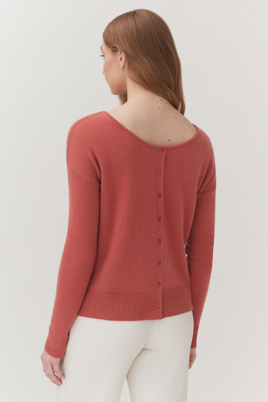 Women's Cardigan in Passion Fruit   Size: 3