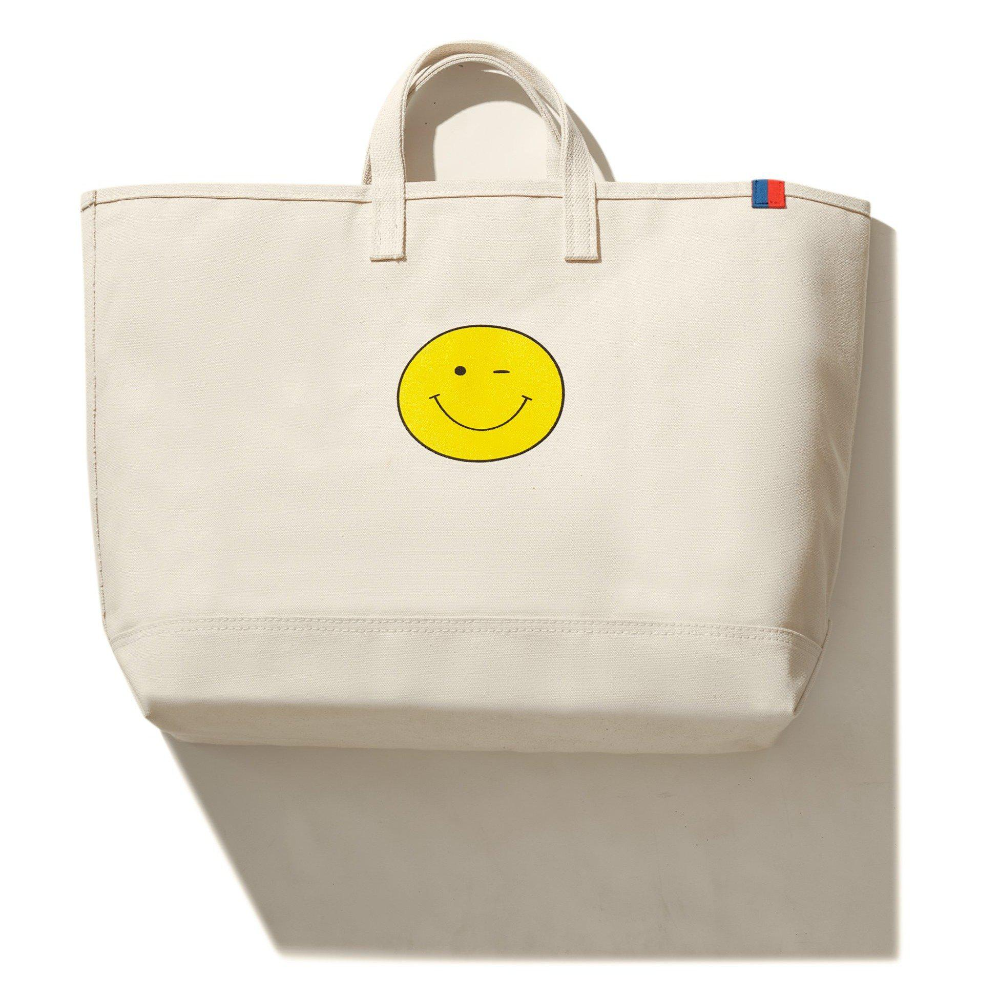 The Wink Face Tote - Canvas