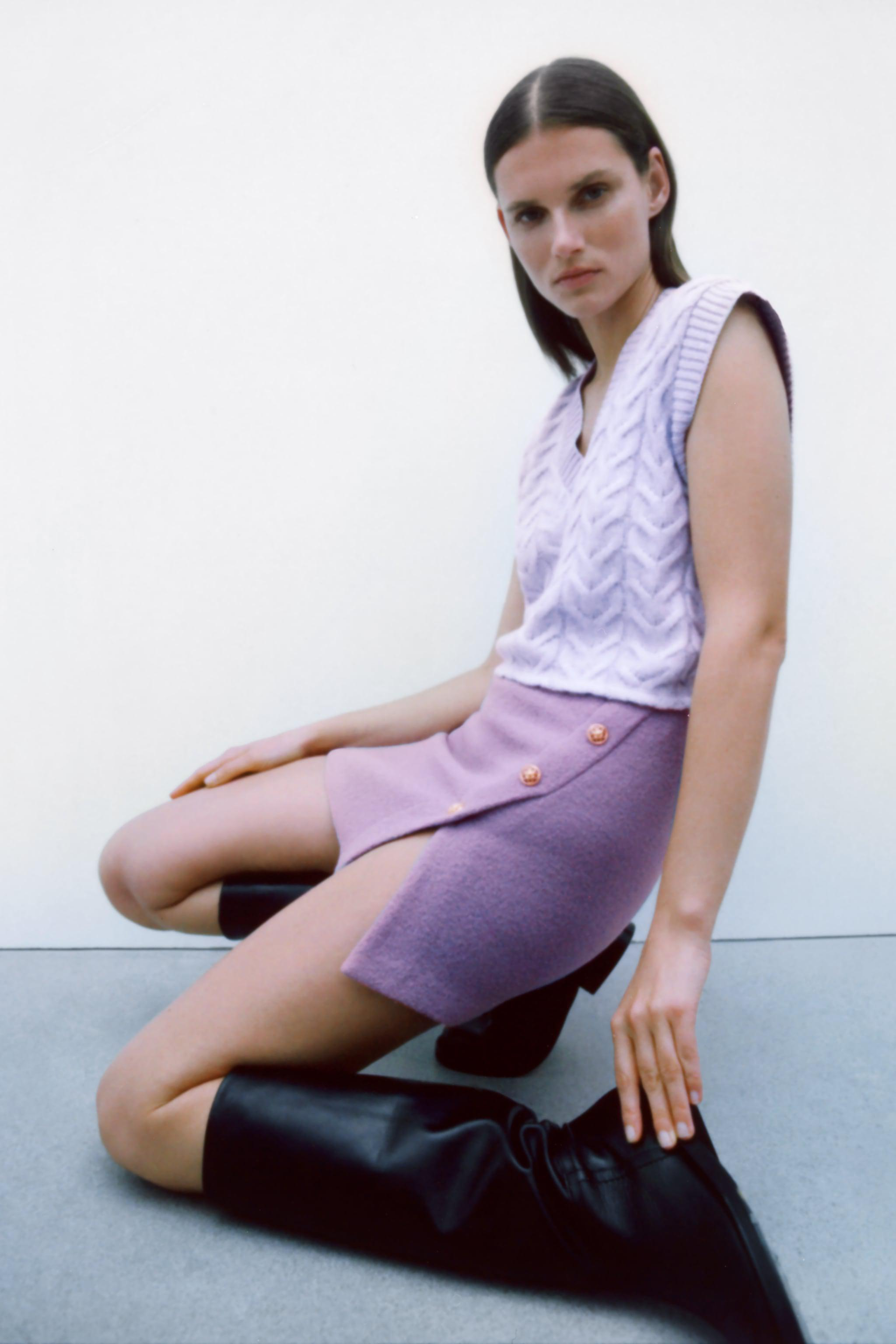 LIMITED EDITION BUTTONED SKIRT