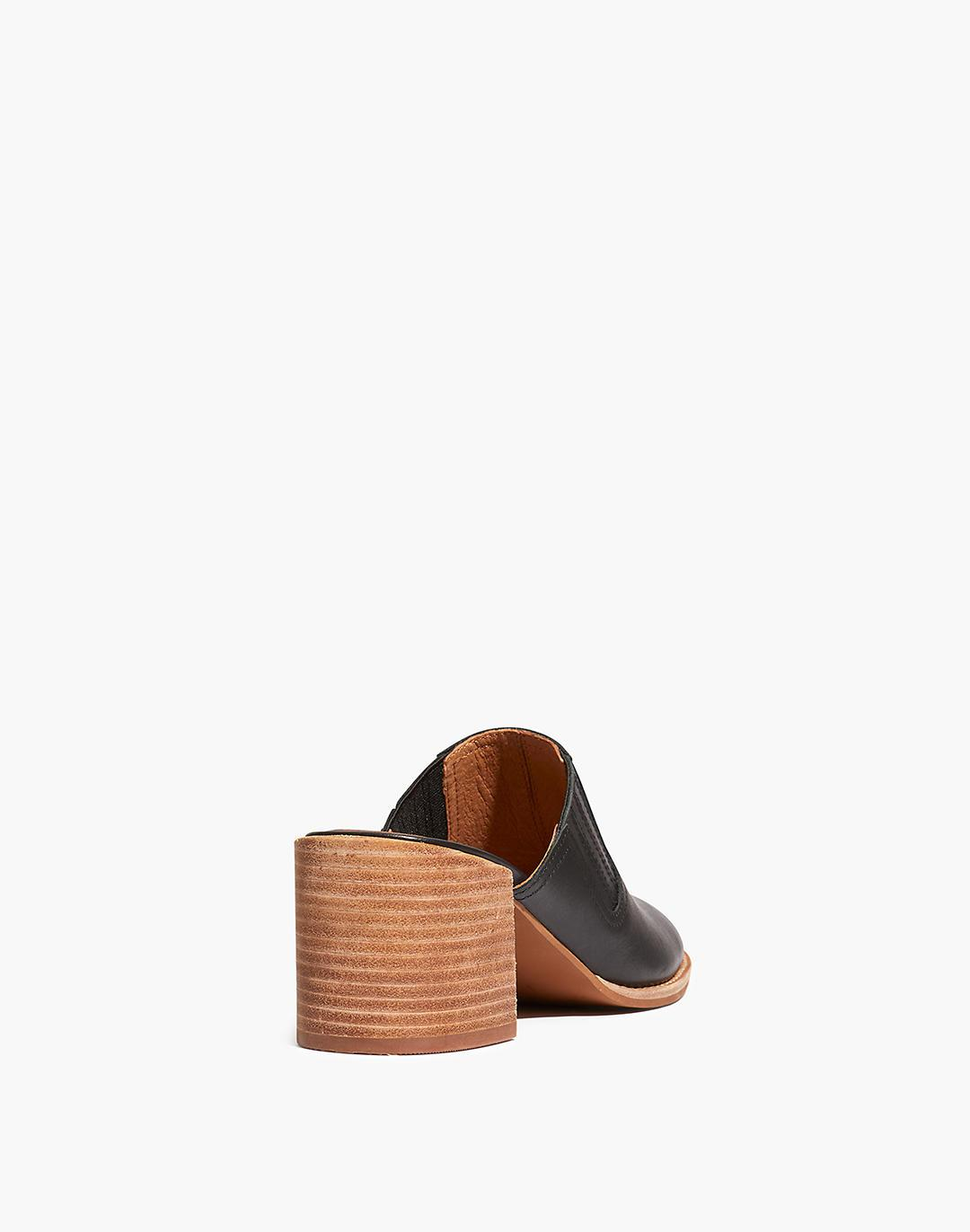 The Carey Mule in Leather 2