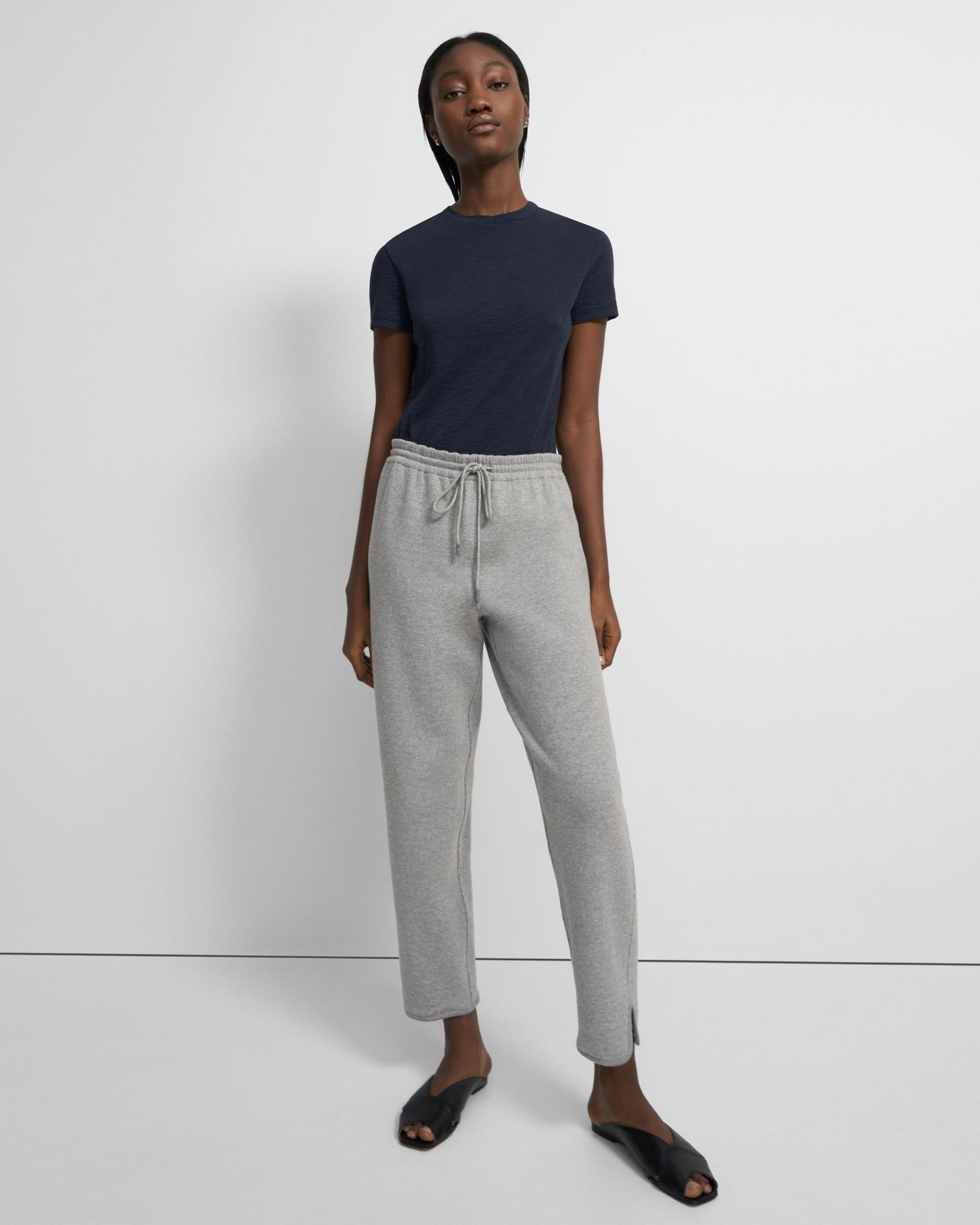 Reversible Notch Jogger in Terry Cotton 2