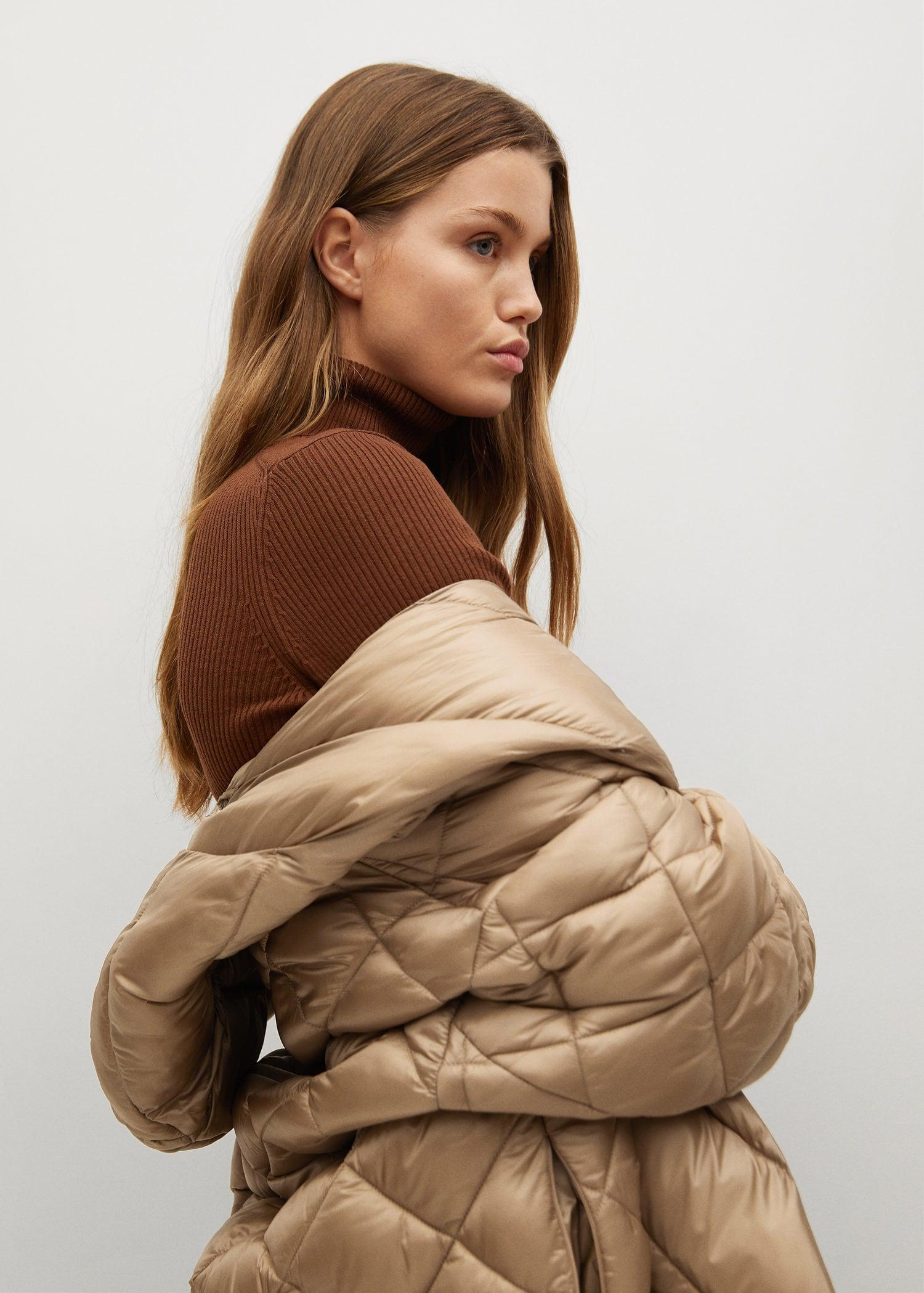Oversize quilted coat 5