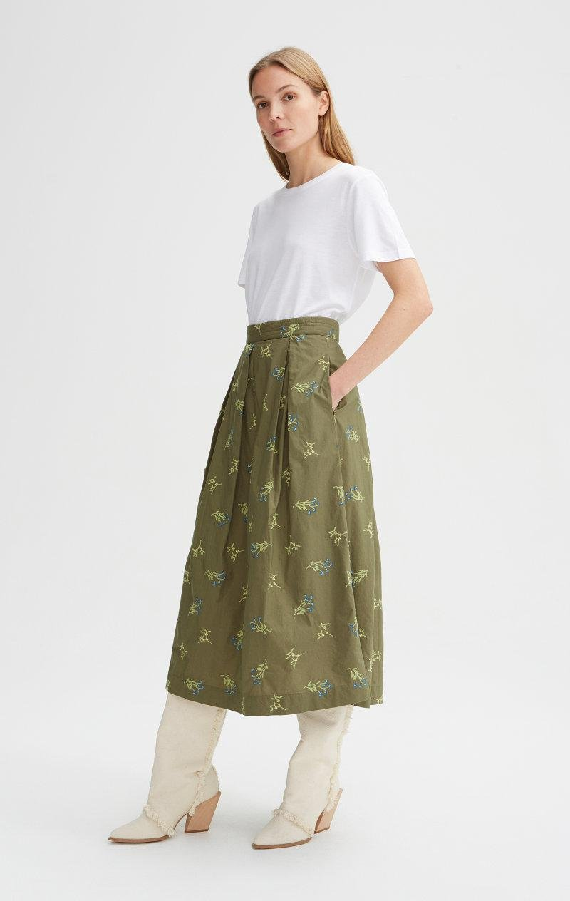 Rodebjer Skirt Cada Embroidery