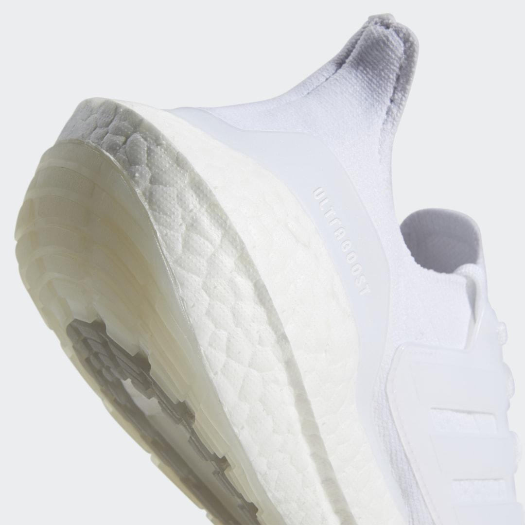Ultraboost 21 Shoes Cloud White 3