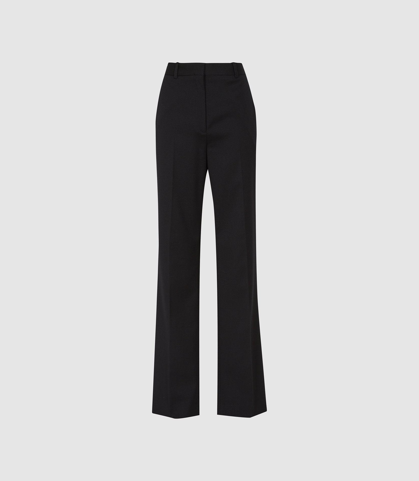 HAYES - WIDE LEG TAILORED PANTS 4