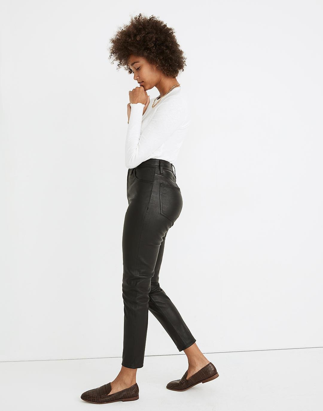 The Perfect Vintage Jean: Leather Edition 1