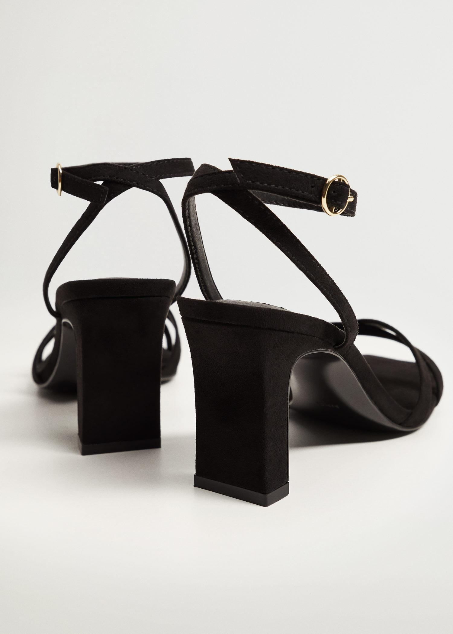 Strappy heeled sandals 2
