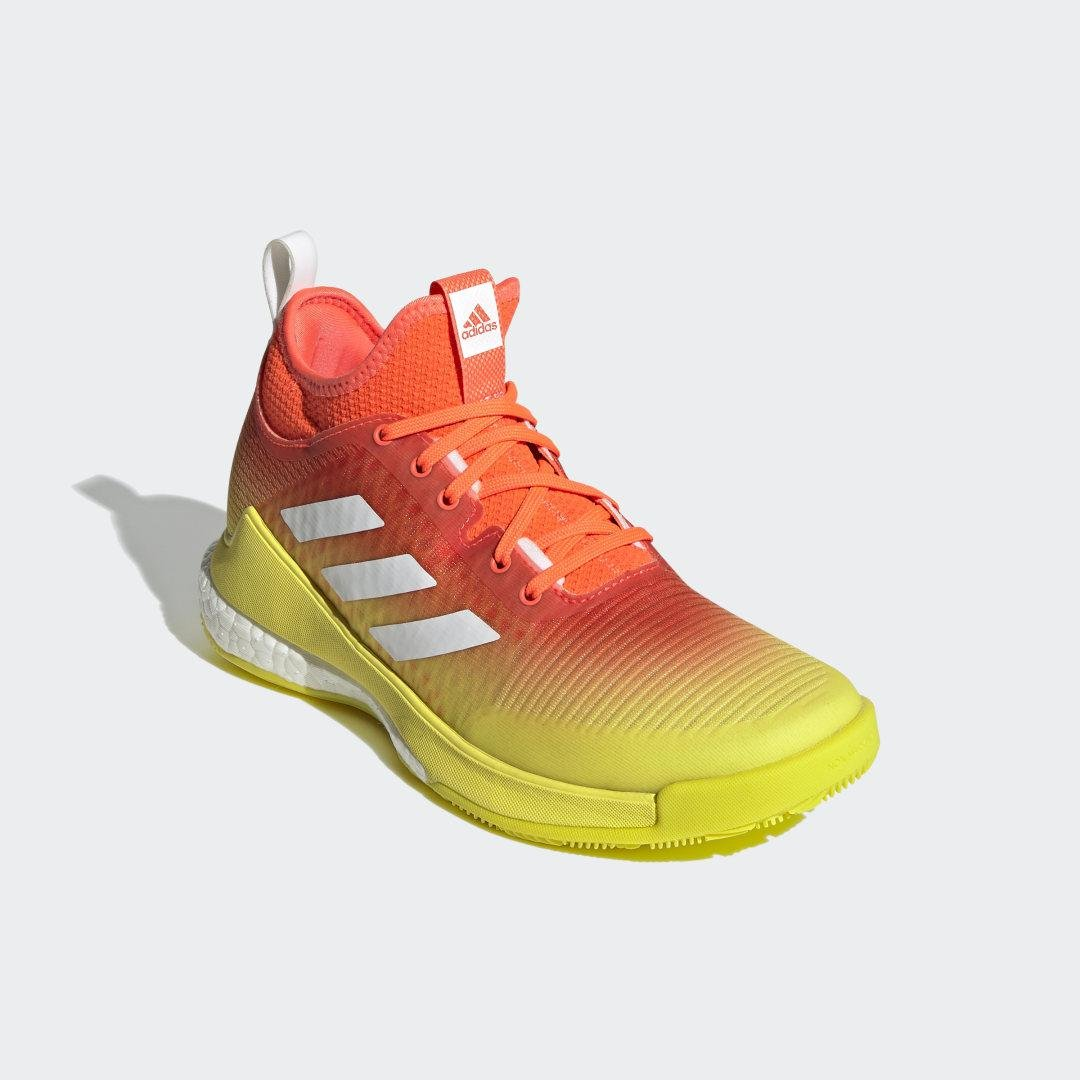 CrazyFlight Mid Volleyball Shoes Solar Red
