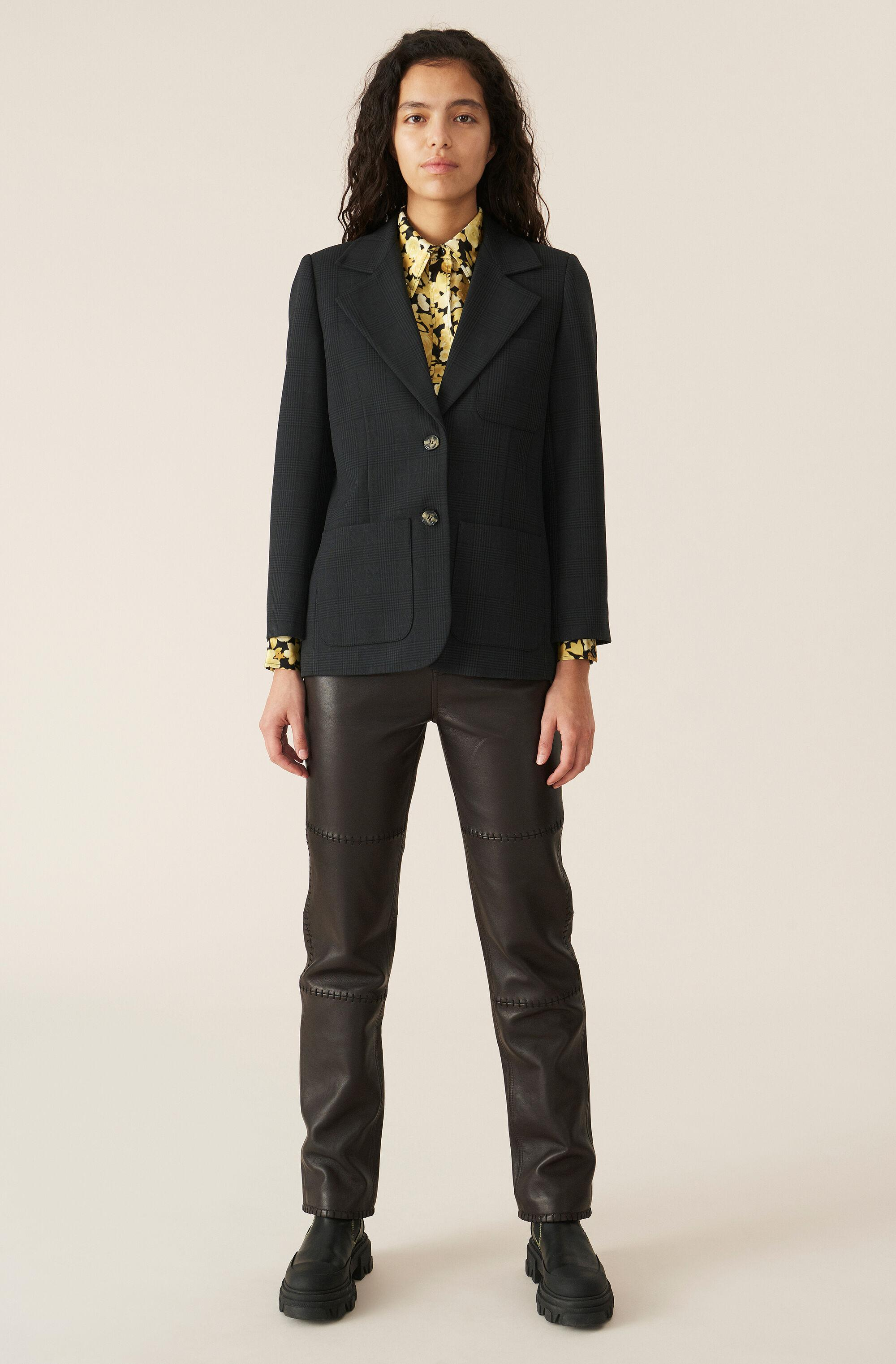 Suiting Fitted Blazer 1