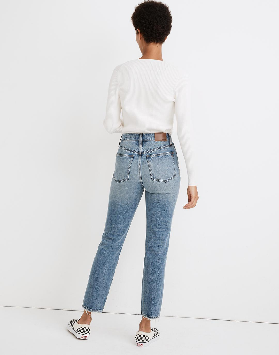 The Perfect Vintage Jean in Phillips Wash: Knee-Rips Edition 2