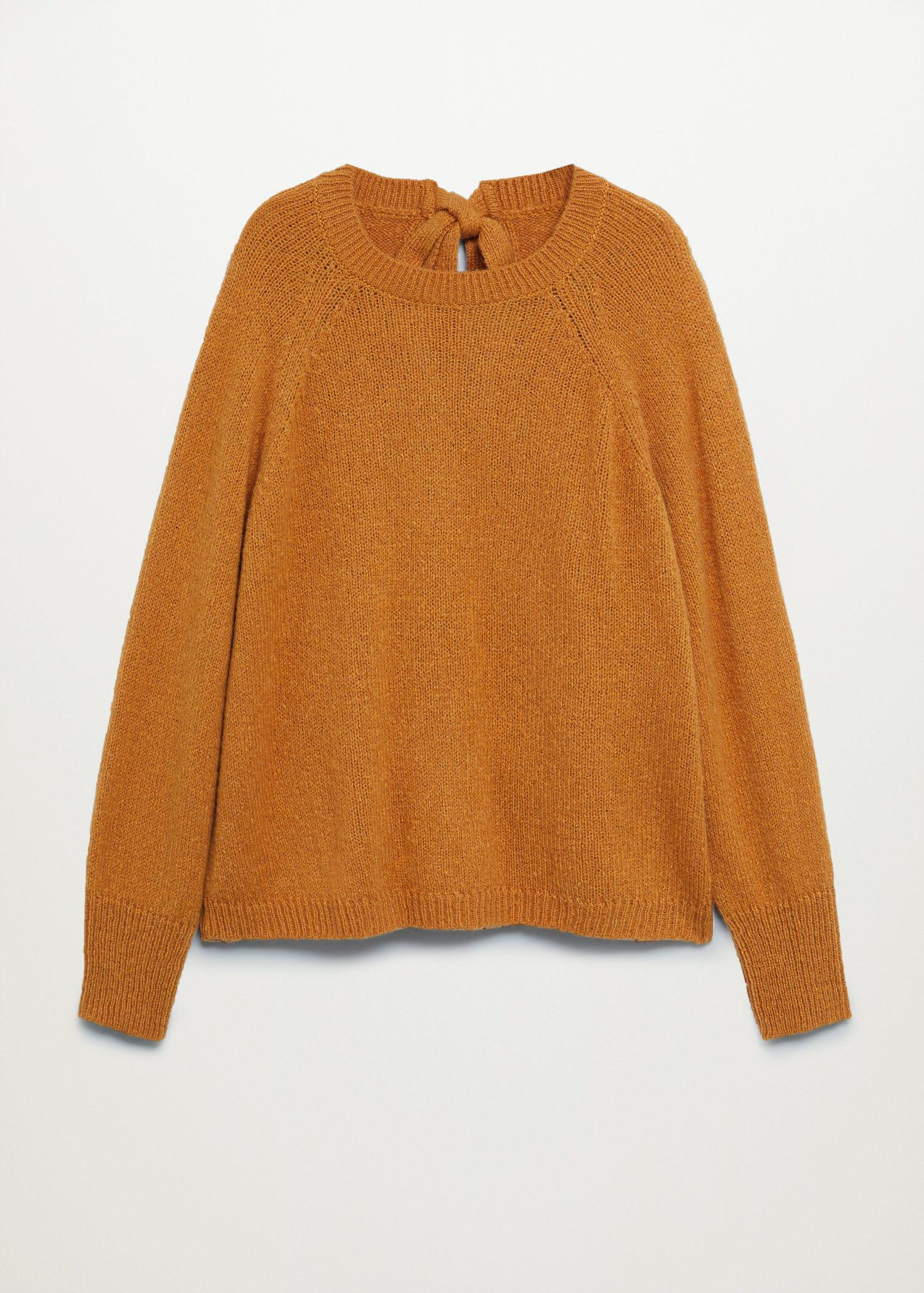 Back bow sweater 7