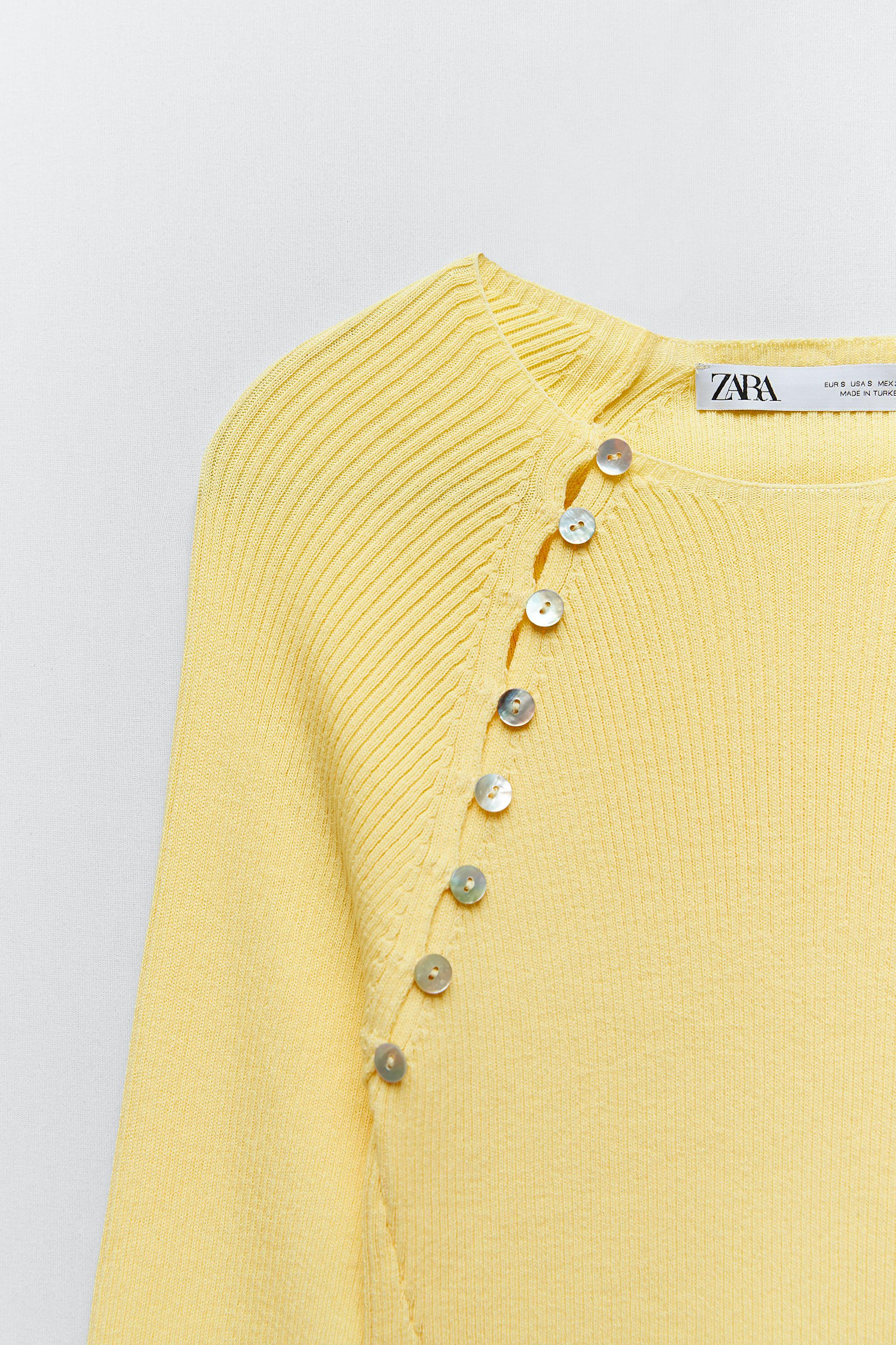 KNIT SWEATER WITH BUTTONS 7
