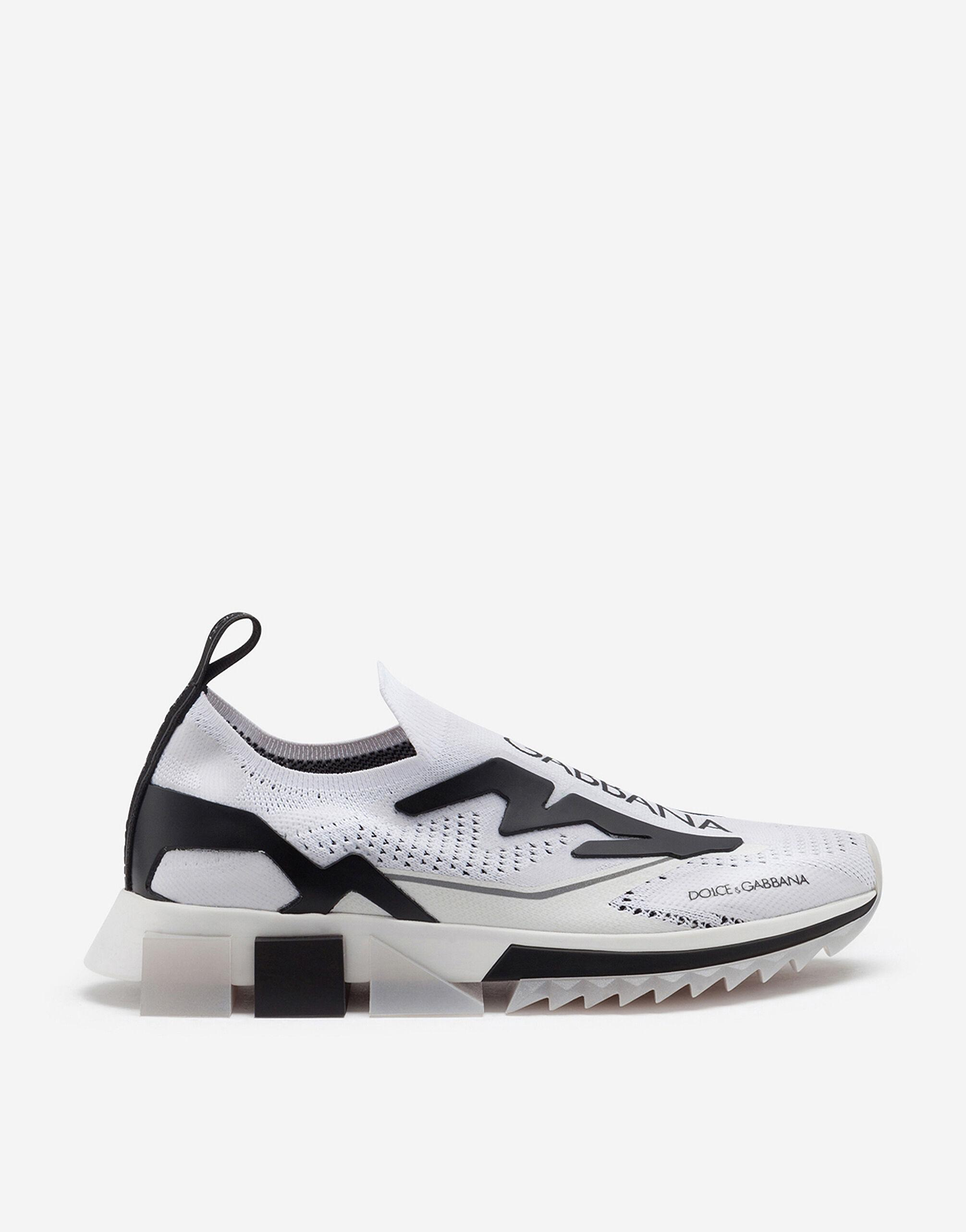 Sorrento sneakers in stretch jersey with logo