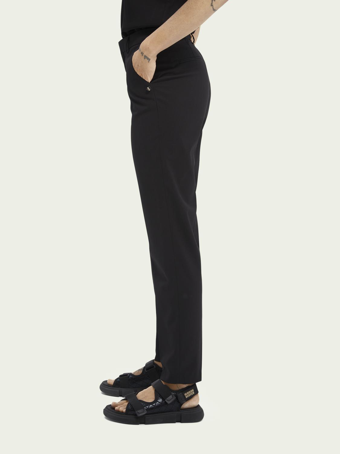 Lowry slim-fit mid-rise trousers 3