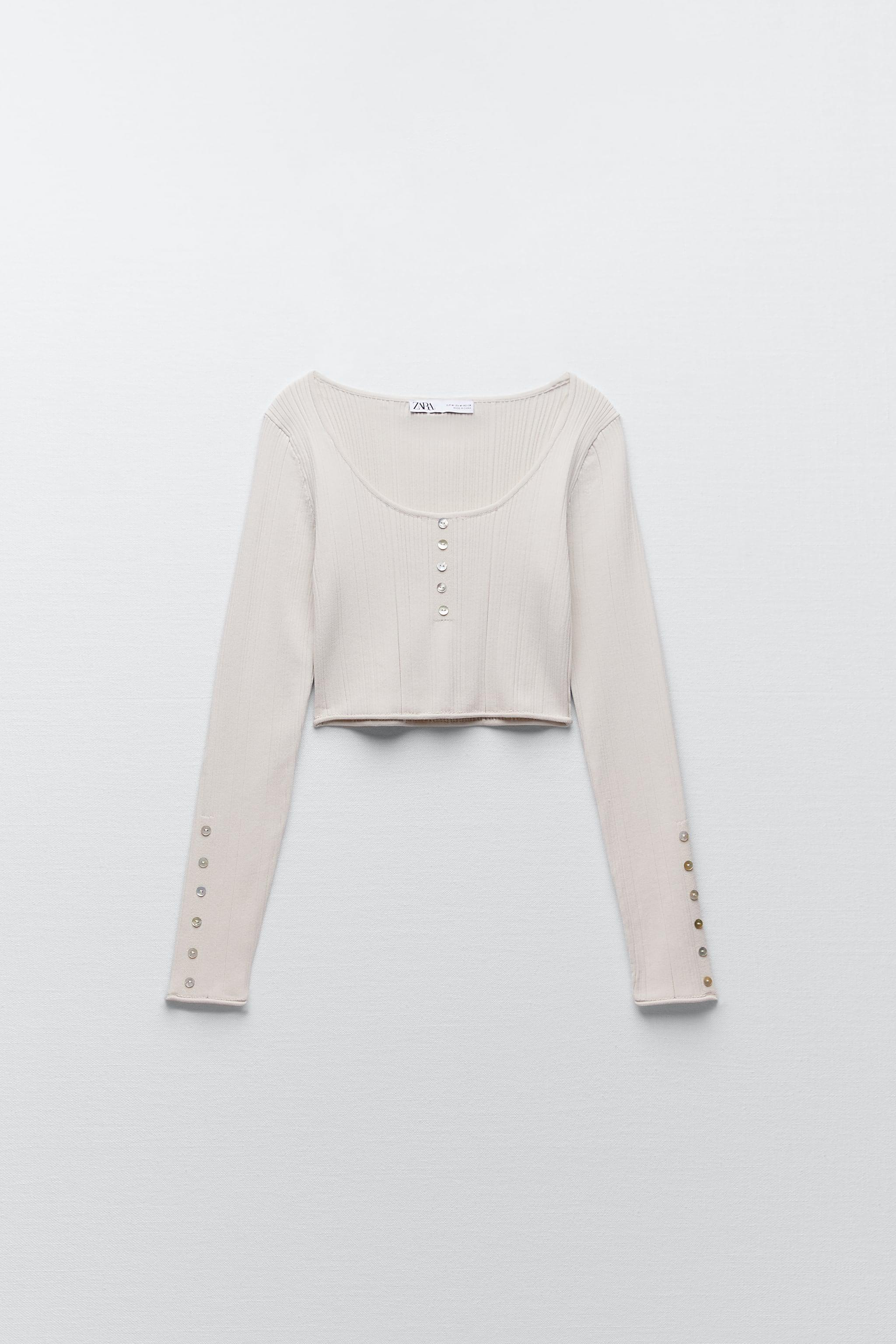 CROPPED KNIT TOP 2