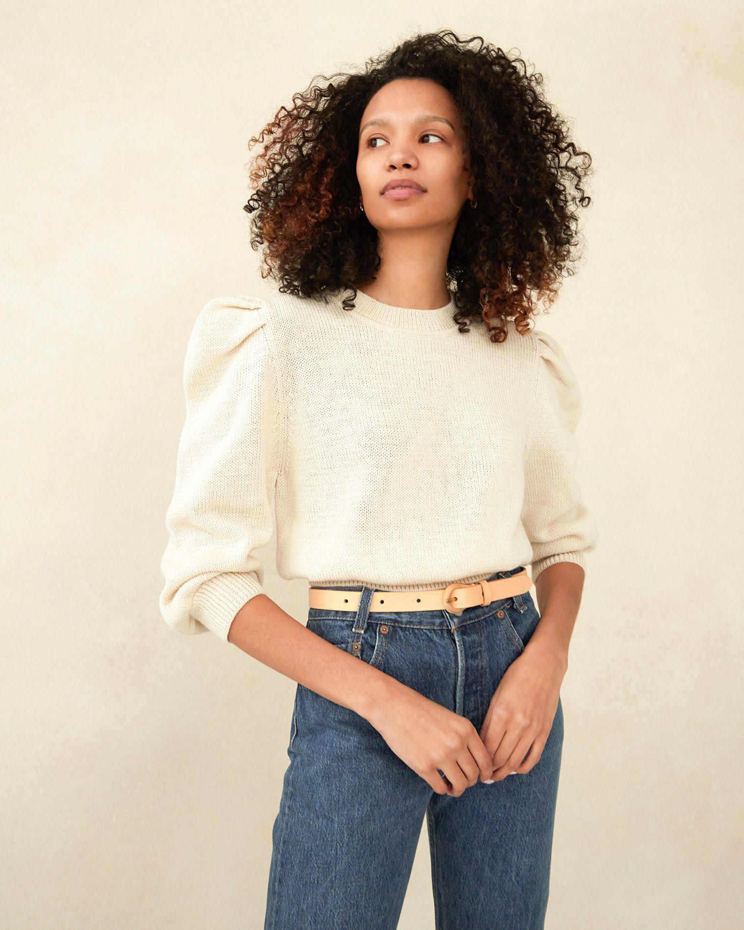 Knits for Good Cream Sweater