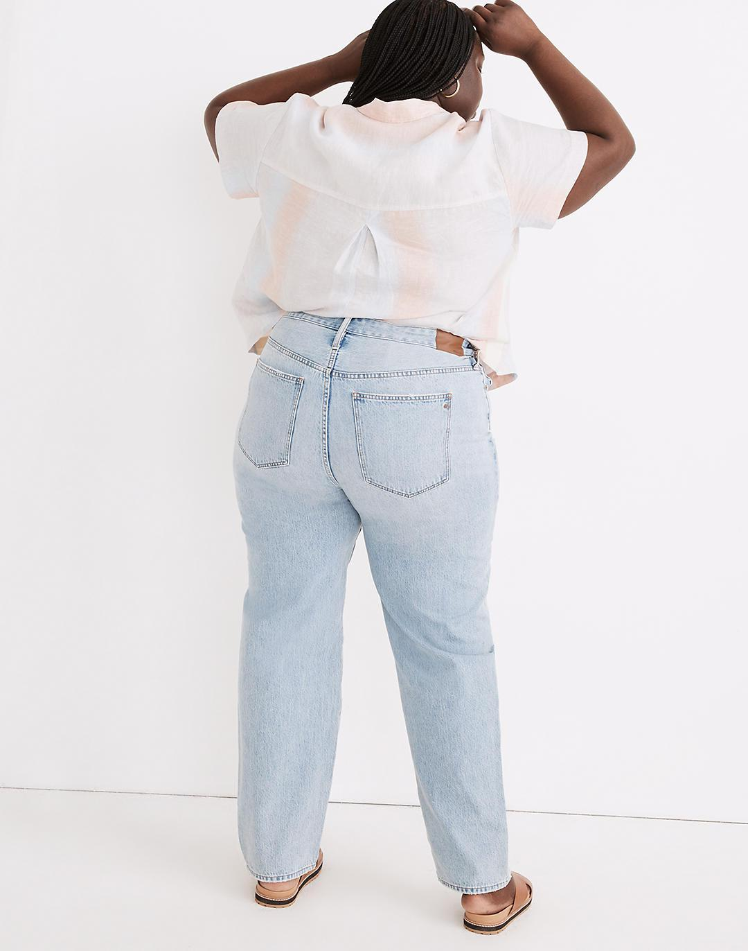 Plus Relaxed Jeans in Cresthaven Wash: Ripped Edition 2