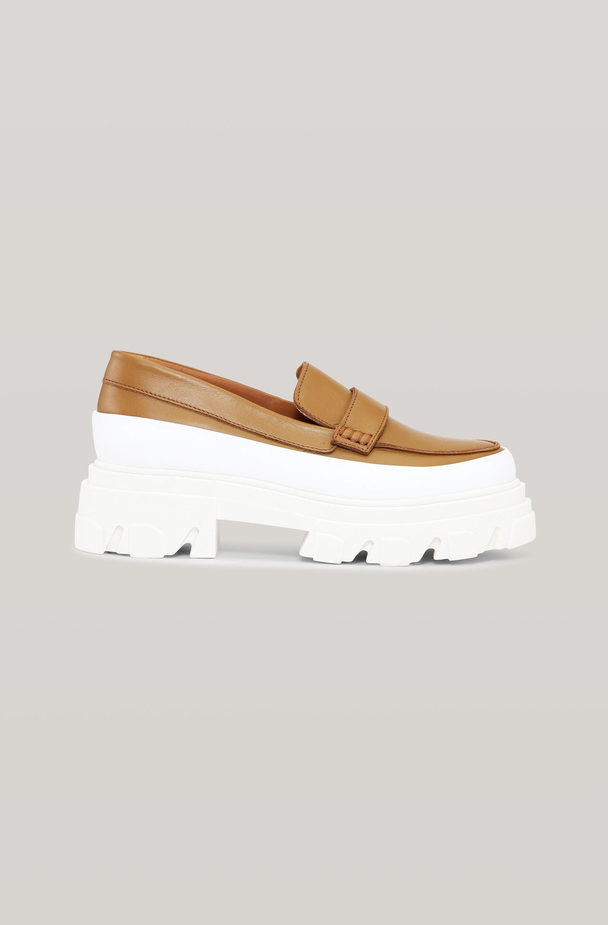 Calf Leather Chunky Loafer