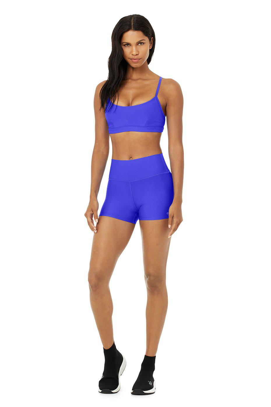 Airlift Intrigue Bra - Alo Blue 4