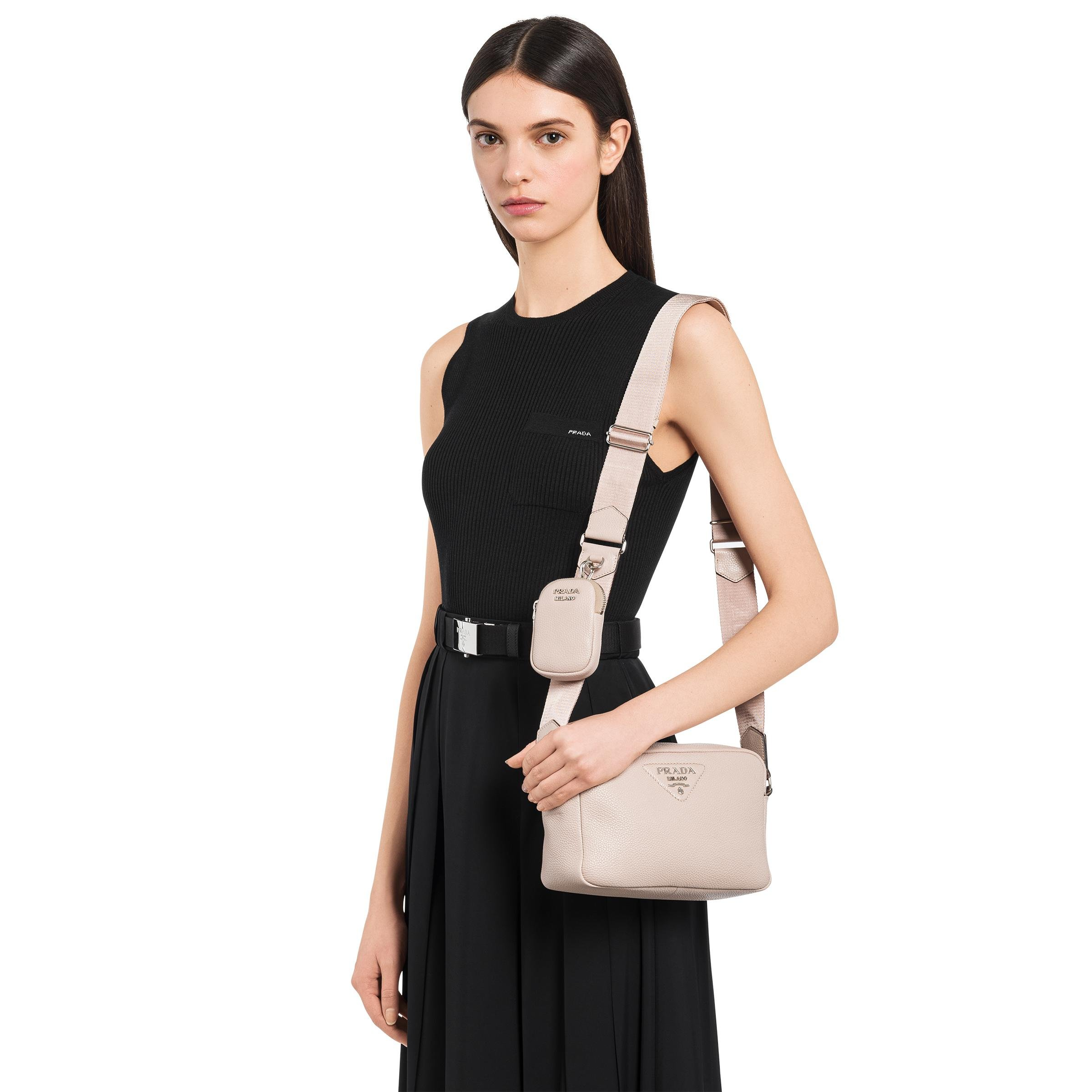 Leather Shoulder Bag Women Water Lily 1