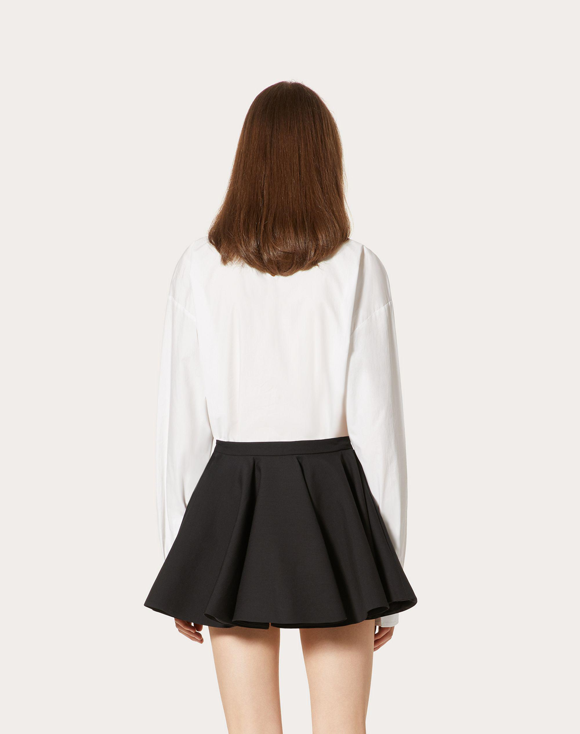 EMBROIDERED COTTON POPLIN TOP 2