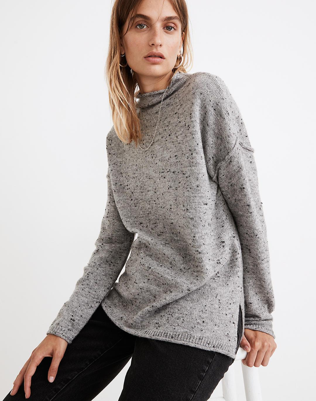 Donegal Whitworth Mockneck Sweater