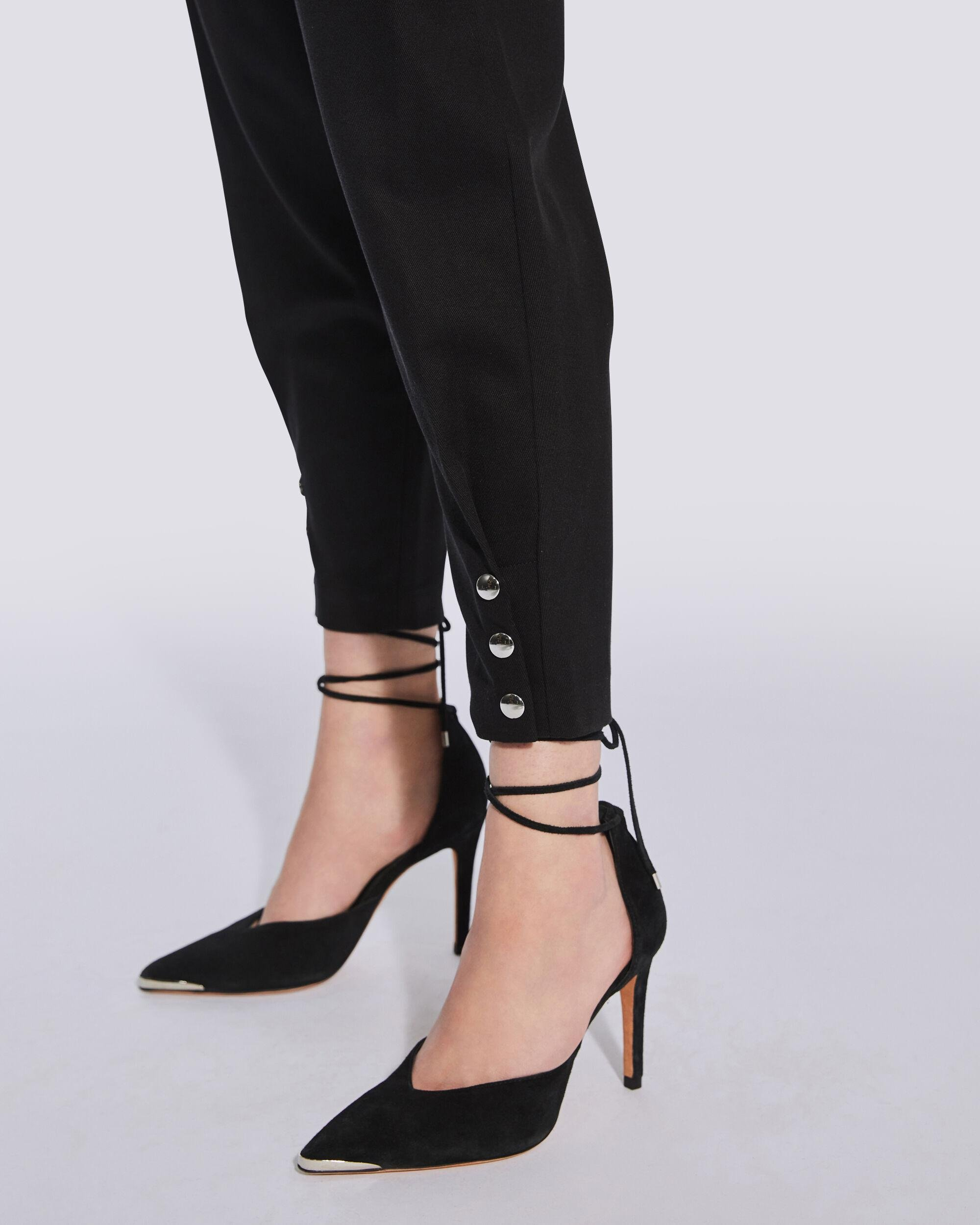 BORCIE PAPERBAG WAIST TROUSERS 1