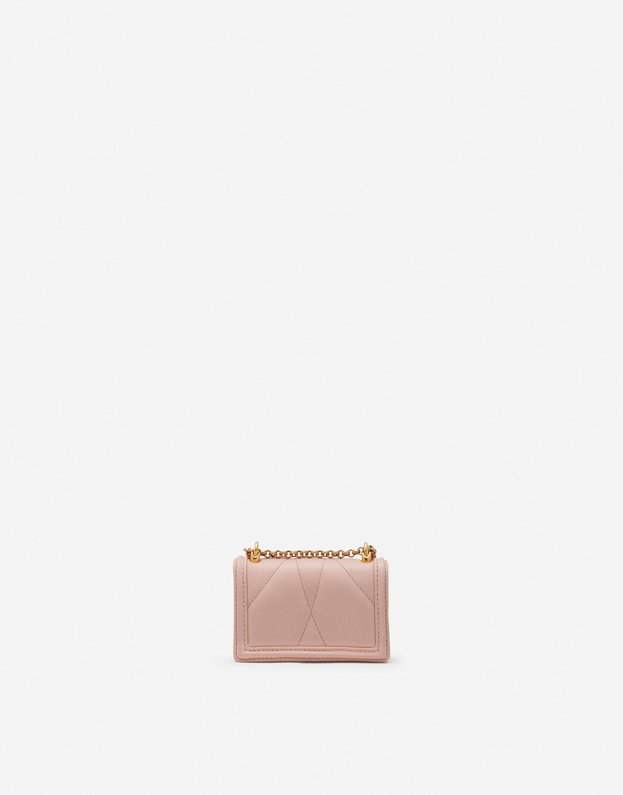 Devotion micro bag in quilted nappa leather 2