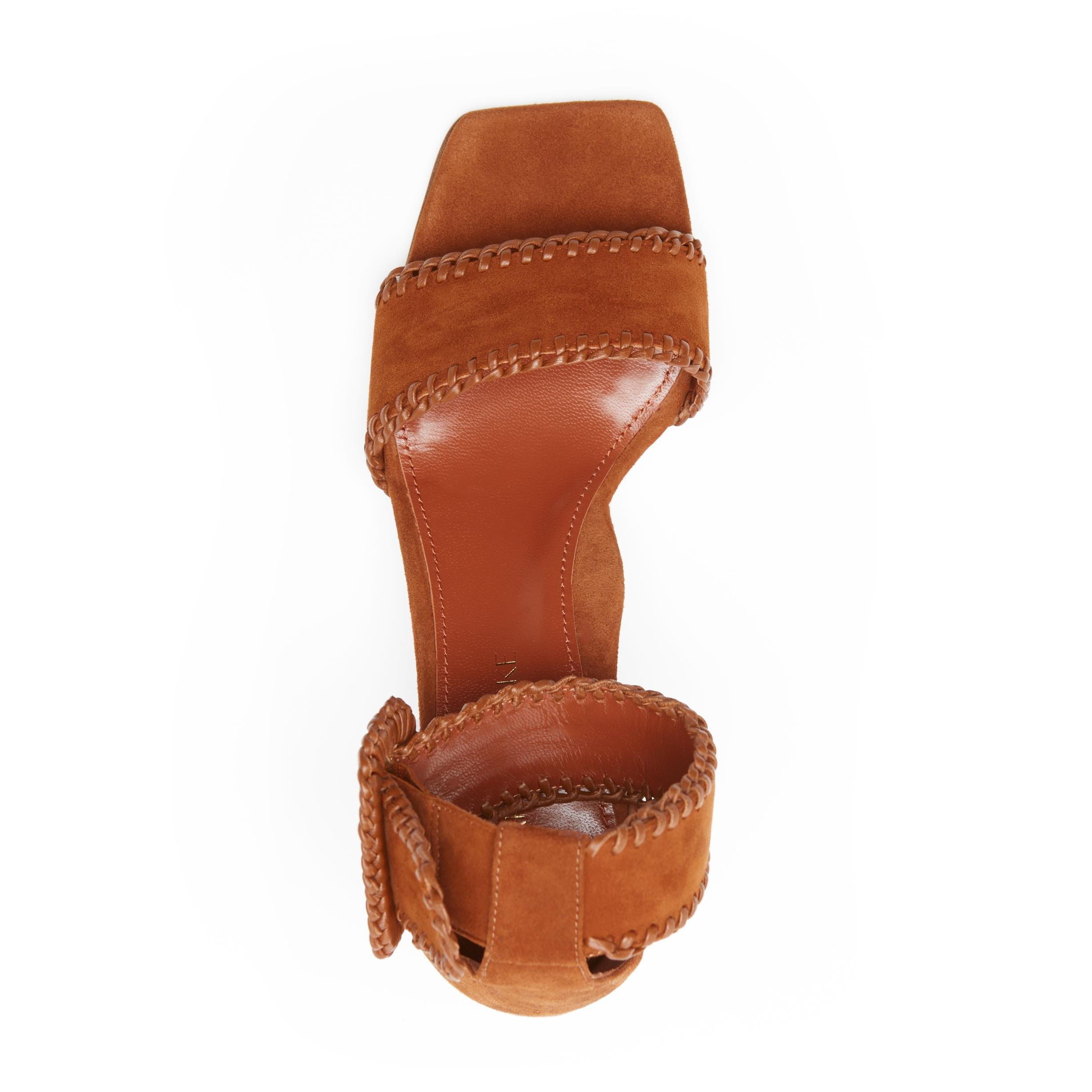 Isabelle | Suede Sandal With Block Heel 2