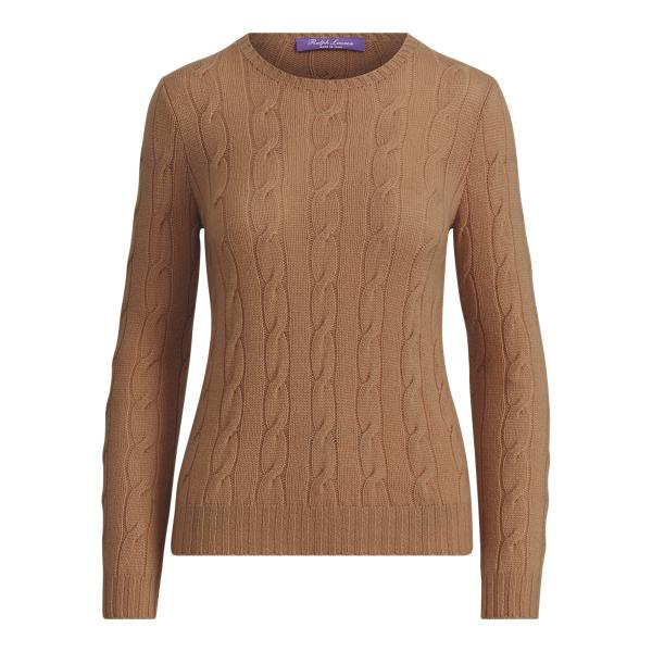 Cable-Knit Cashmere Sweater 3