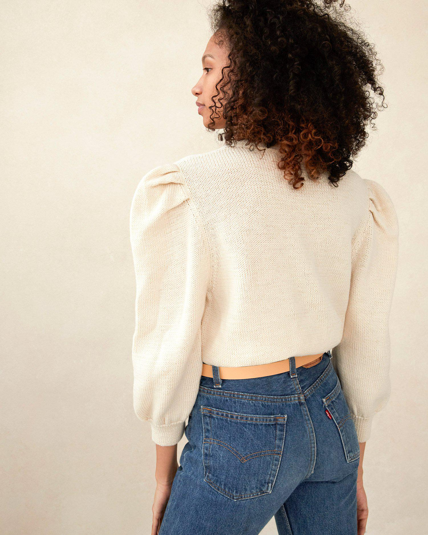 Knits for Good Cream Sweater 3
