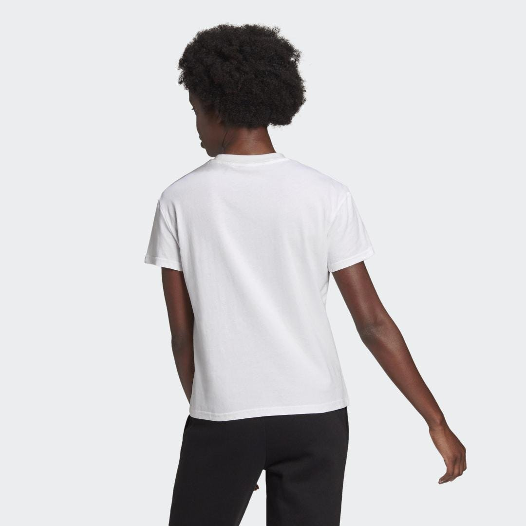 Leopard Graphic Tee White 1