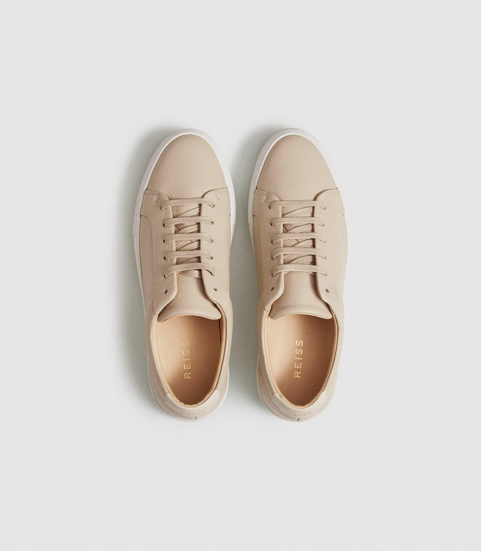 LUCA - TUMBLED LEATHER SNEAKERS 1