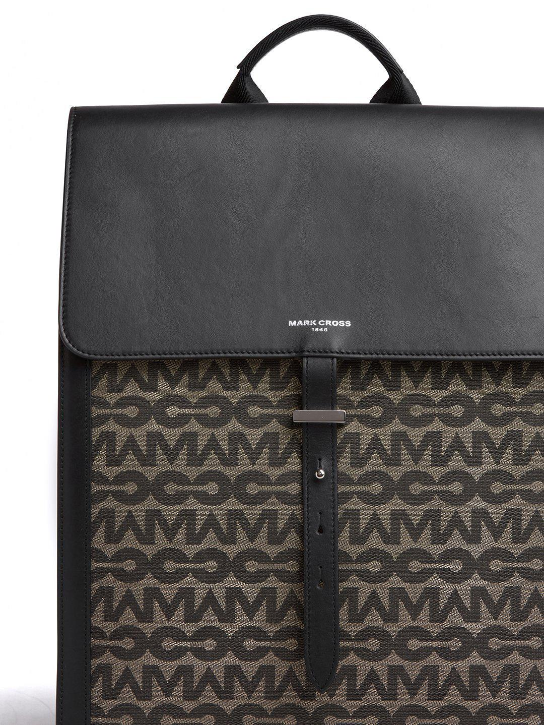 Andy MC Jacquard & Leather Backpack 6