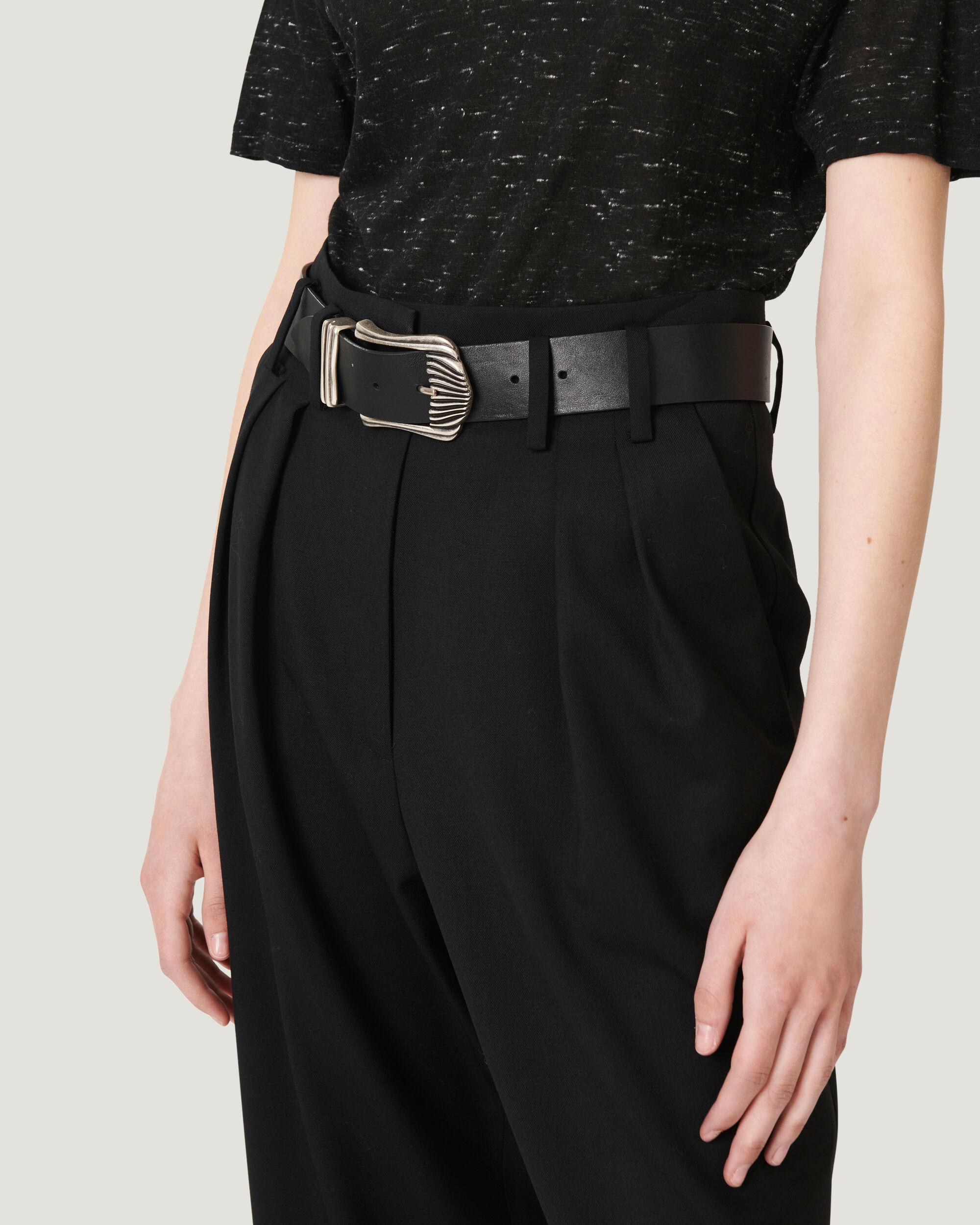 ALESSO ULTRA CROPPED PLEATED TROUSERS 4