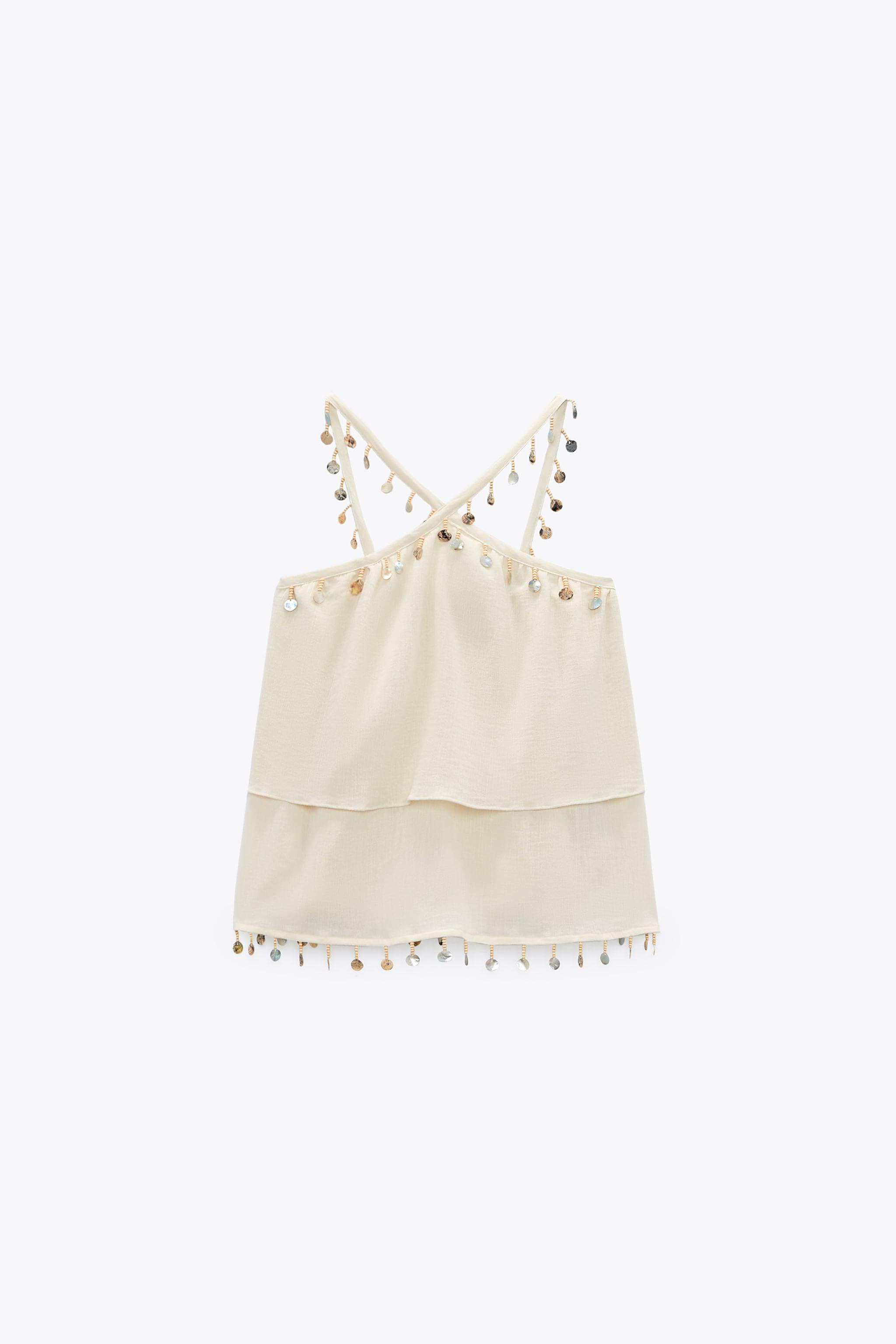 CAMISOLE WITH SHELLS 1